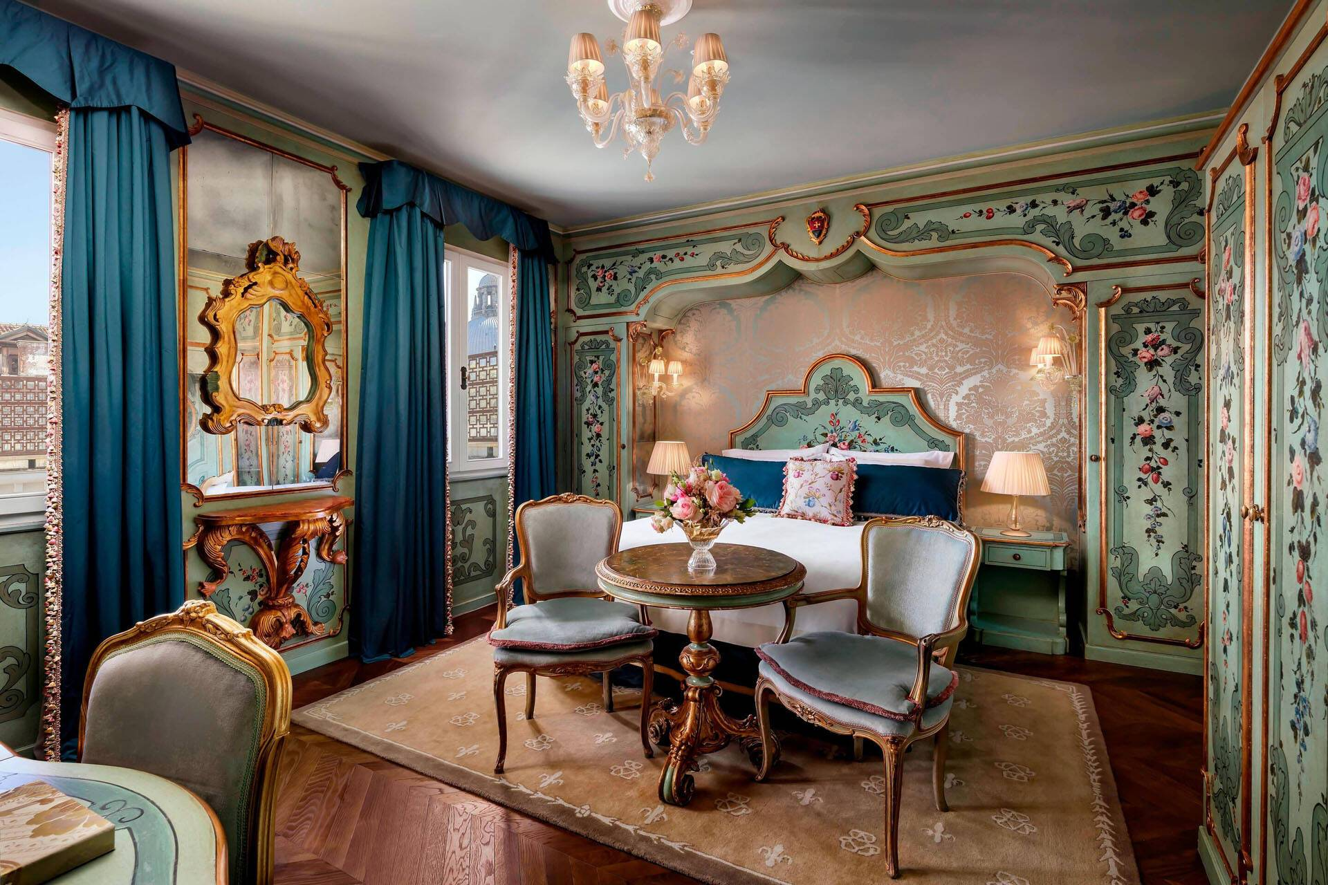 Venise The Gritti Palace venetian room