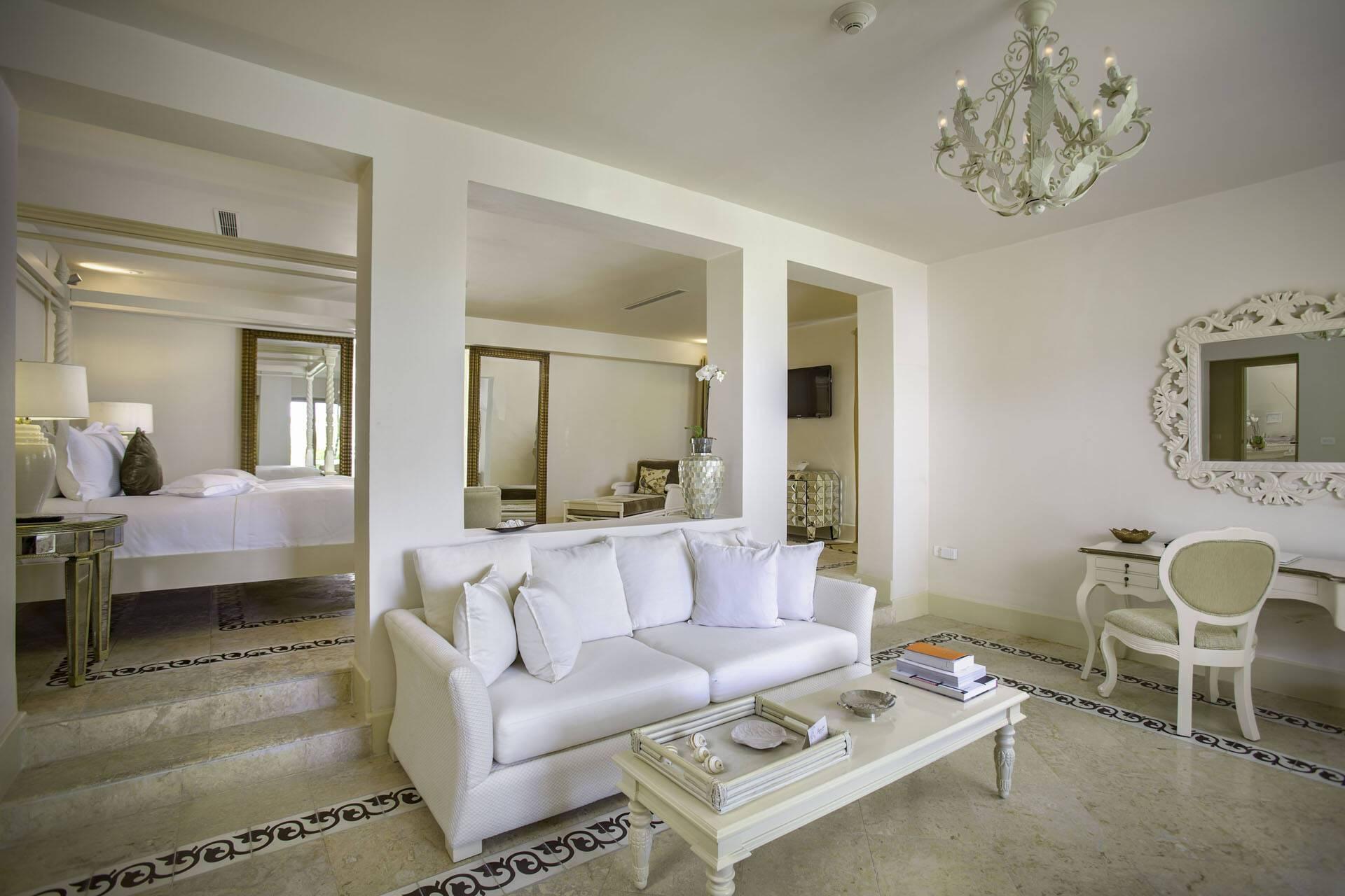 Eden Roc Cap Cana Punta Cana Rep Republicaine Imperial Villa Living Room