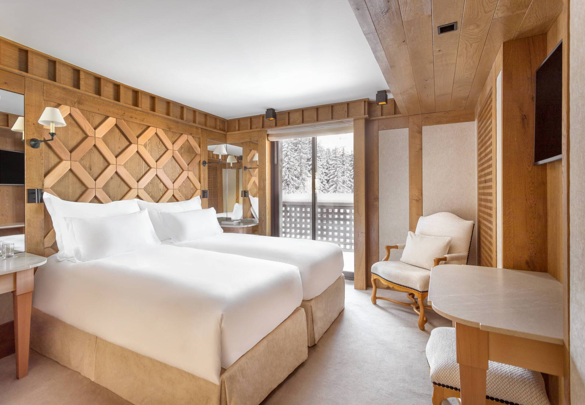 Aman Le Melezin Courchevel Chambre Junior