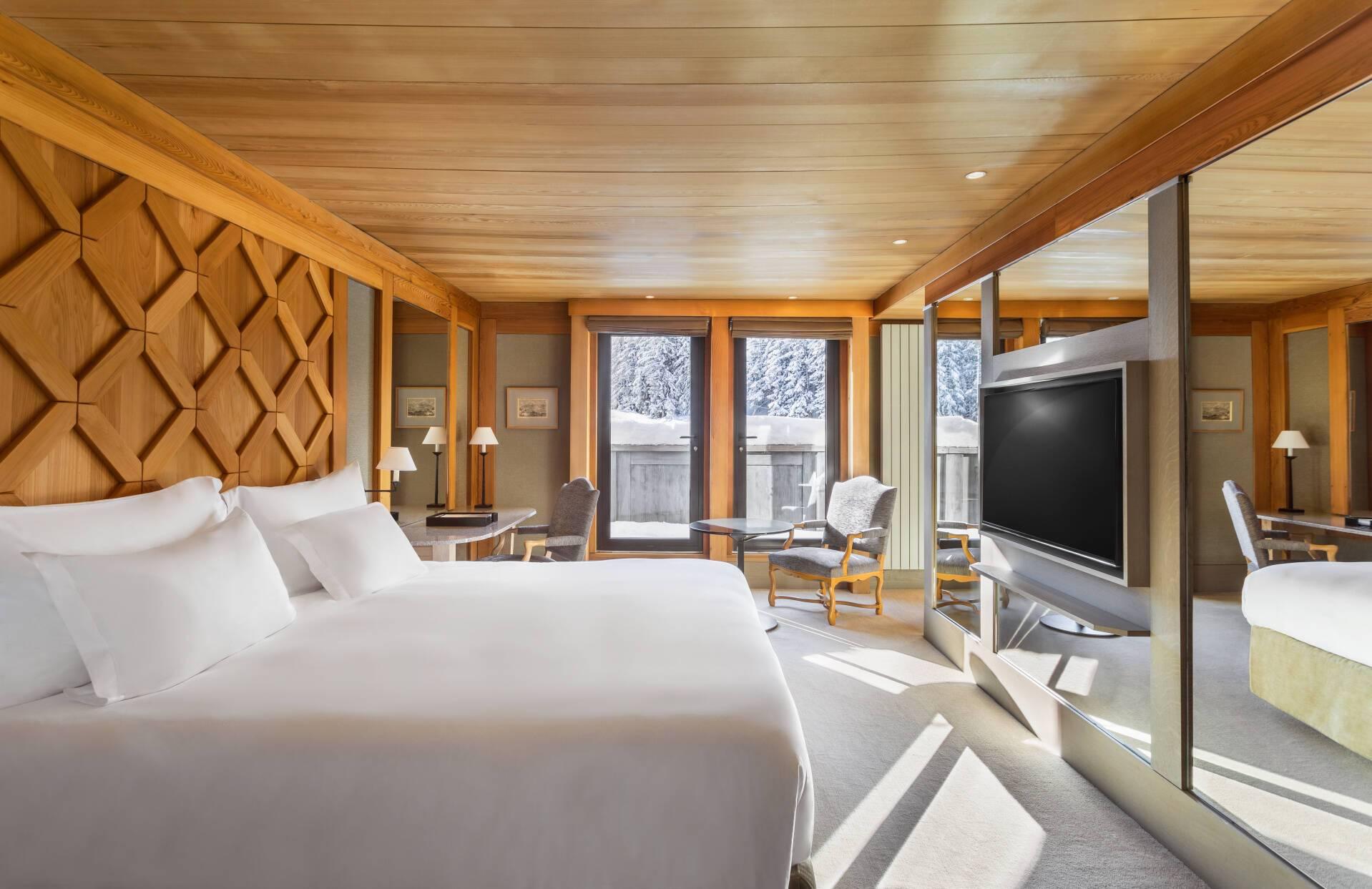 Aman Le Melezin Courchevel Chambre Ski Piste