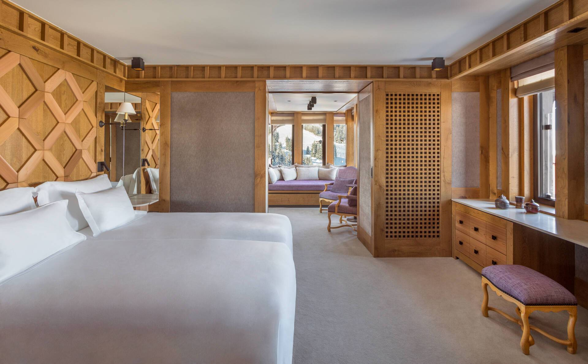 Aman Le Melezin Courchevel Chambre Village