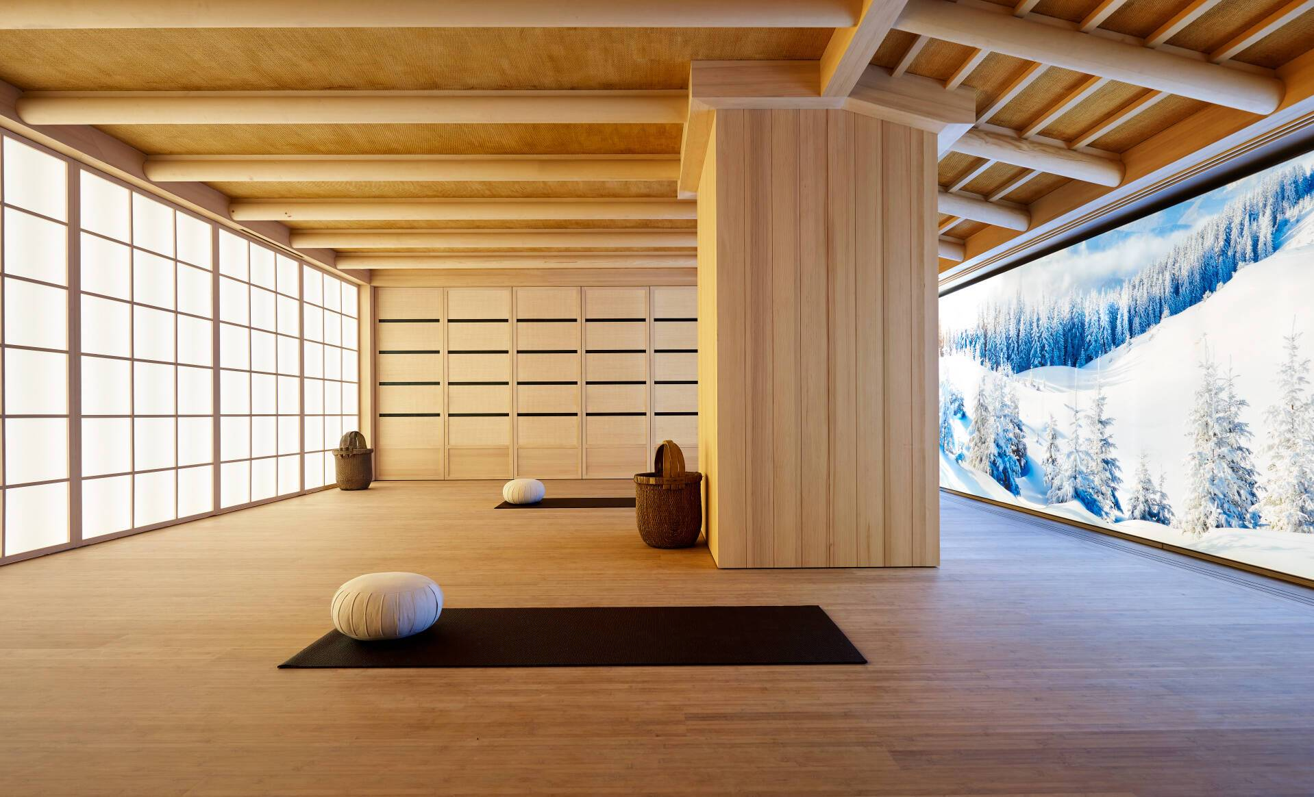 Aman Le Melezin Courchevel Yoga Studio