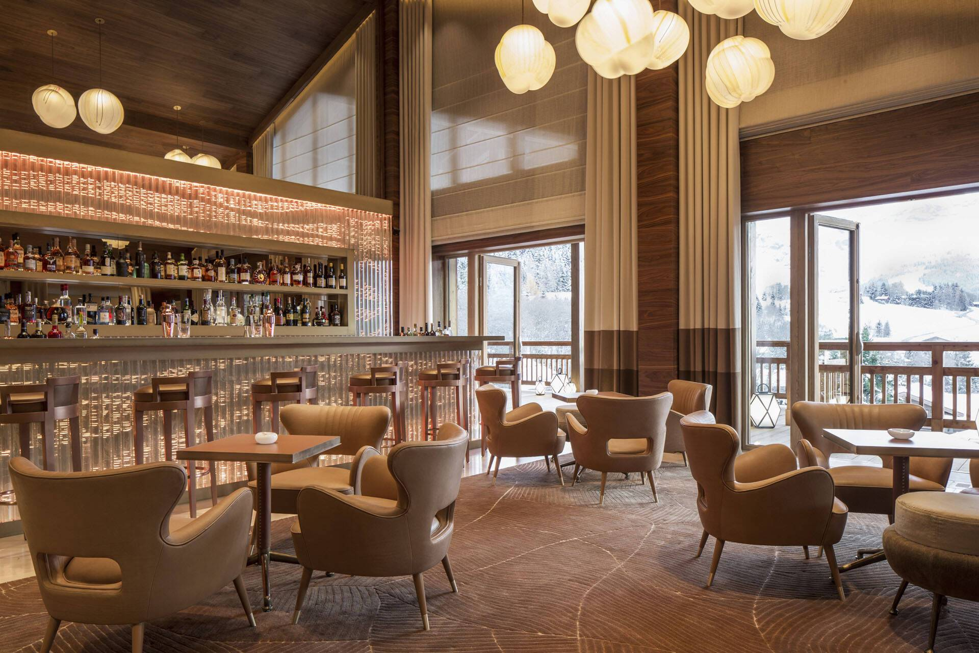 Four Seasons Hotel Megeve Bar