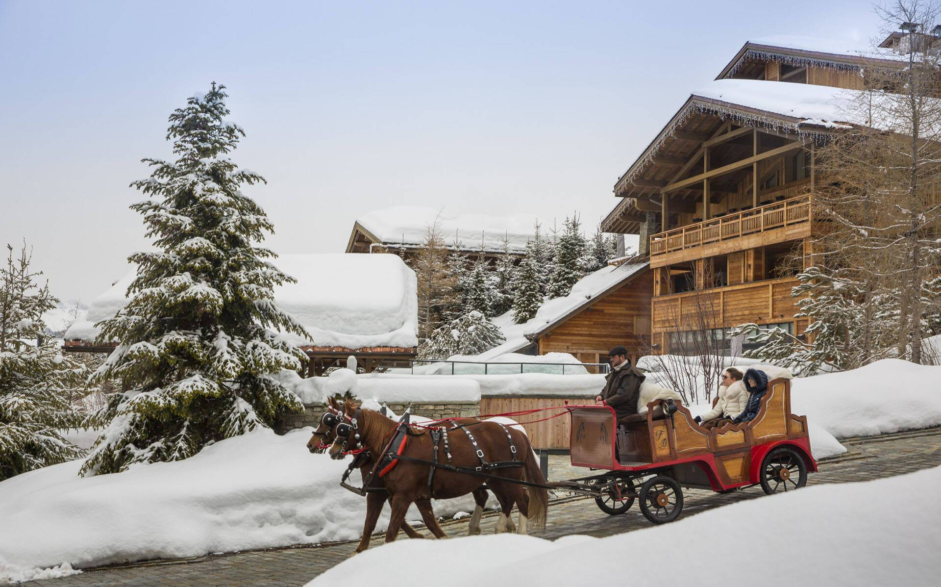 Four Seasons Hotel Megeve Caleche