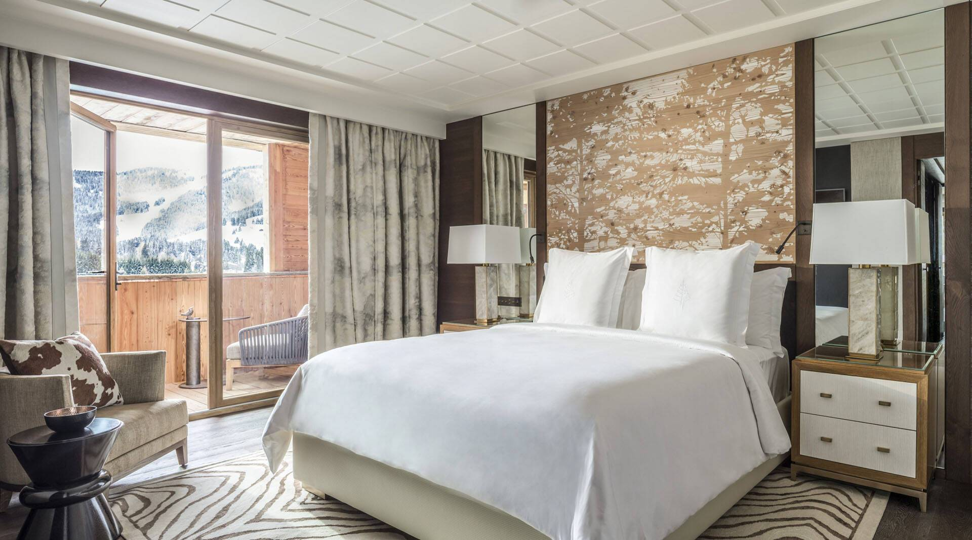 Four Seasons Hotel Megeve Deluxe Room