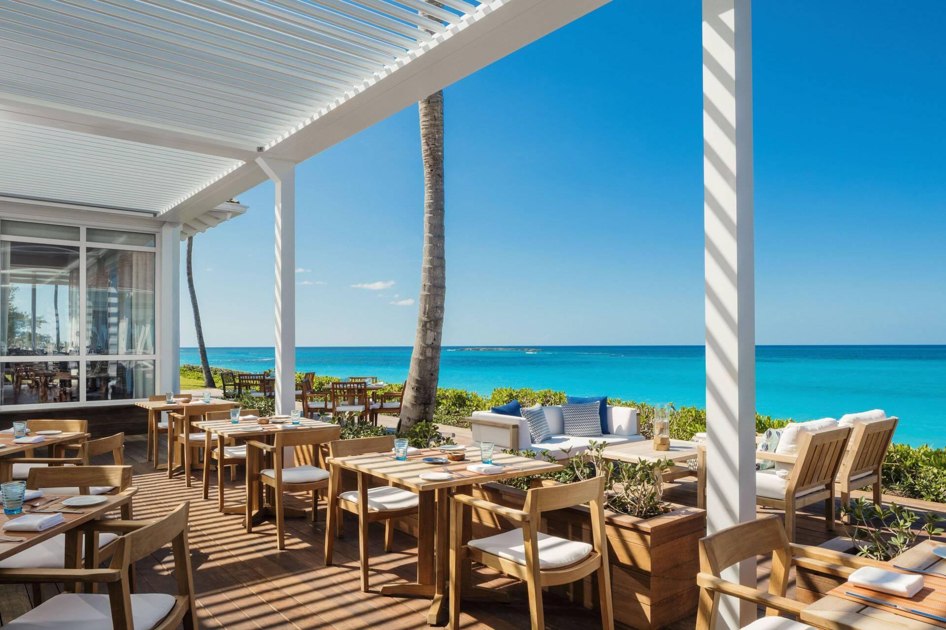 Ocean Club Four Seasons Bahamas Restaurant Dune Terrasse