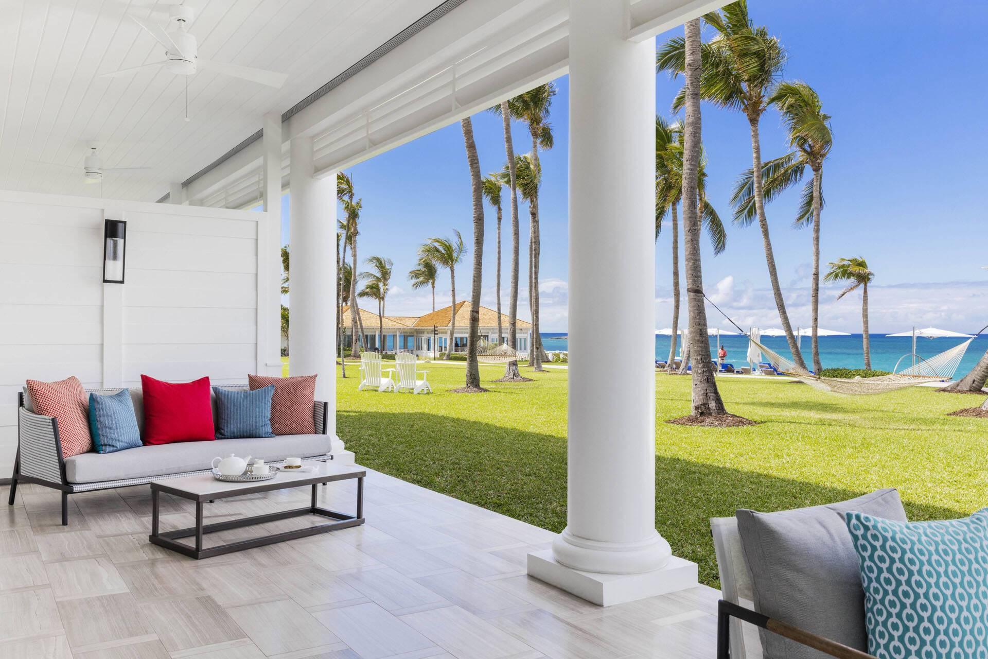 Ocean Club Four Seasons Bahamas Suite Terrasse