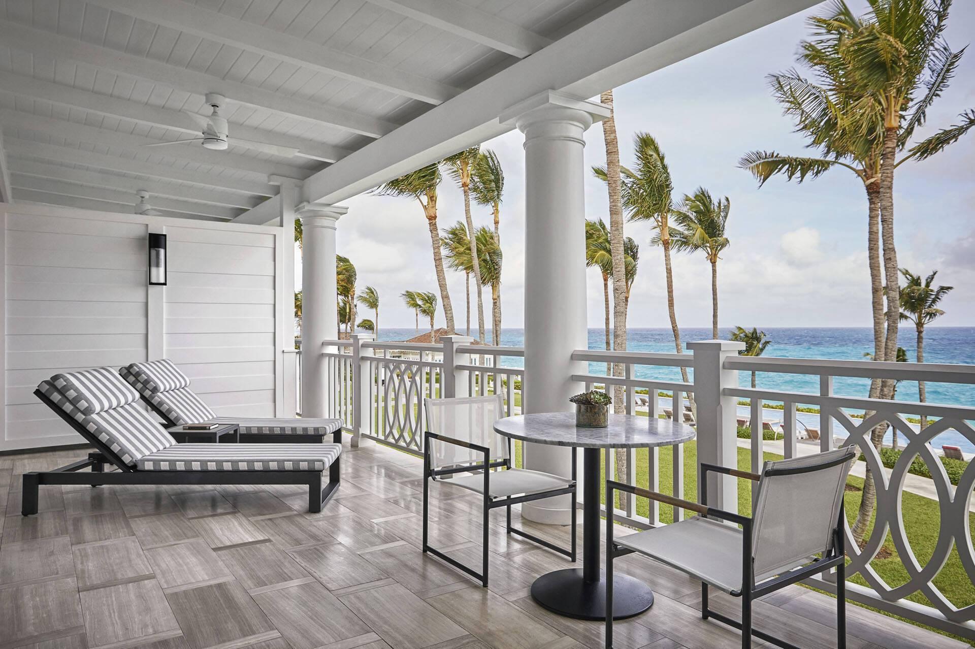 Ocean Club Four Seasons Bahamas Terrasse