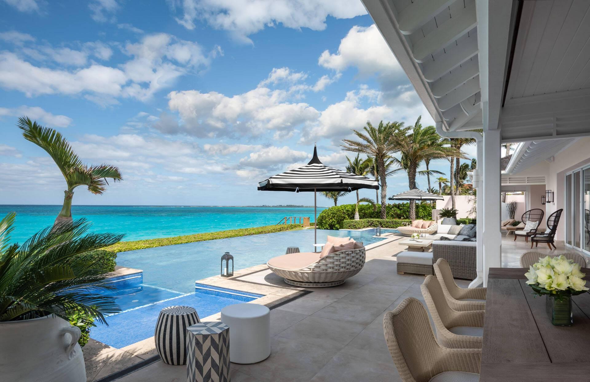 Ocean Club Four Seasons Bahamas Villa Residence Piscine