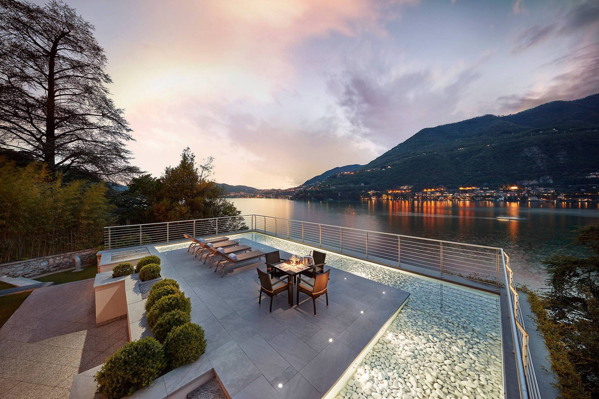 Mandarin Oriental Lac Come Suite Residenza Terrasse