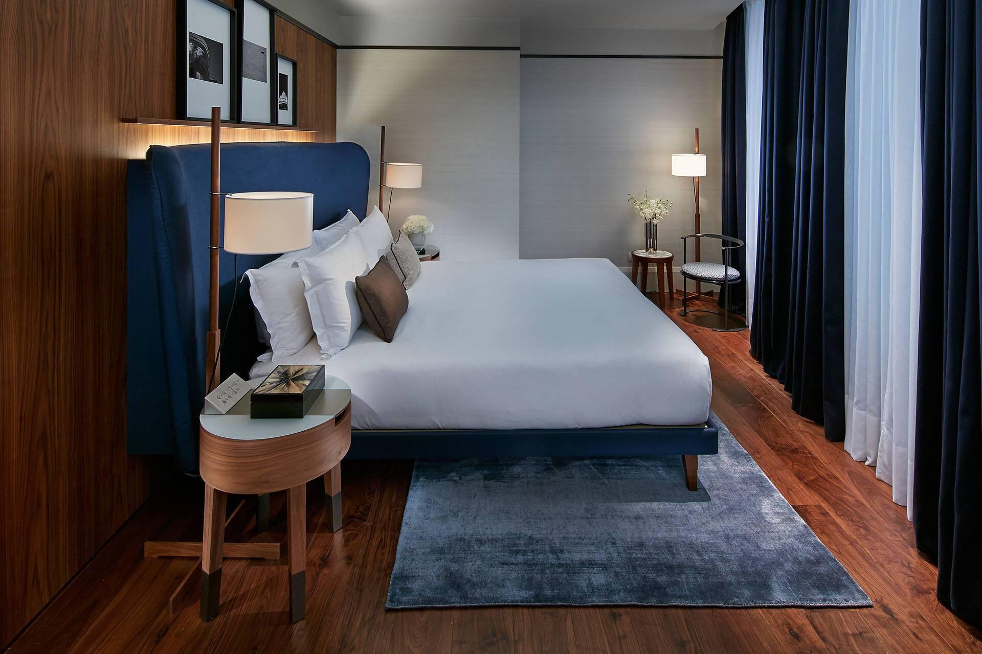 Mandarin Oriental Milan Premier Bedroom