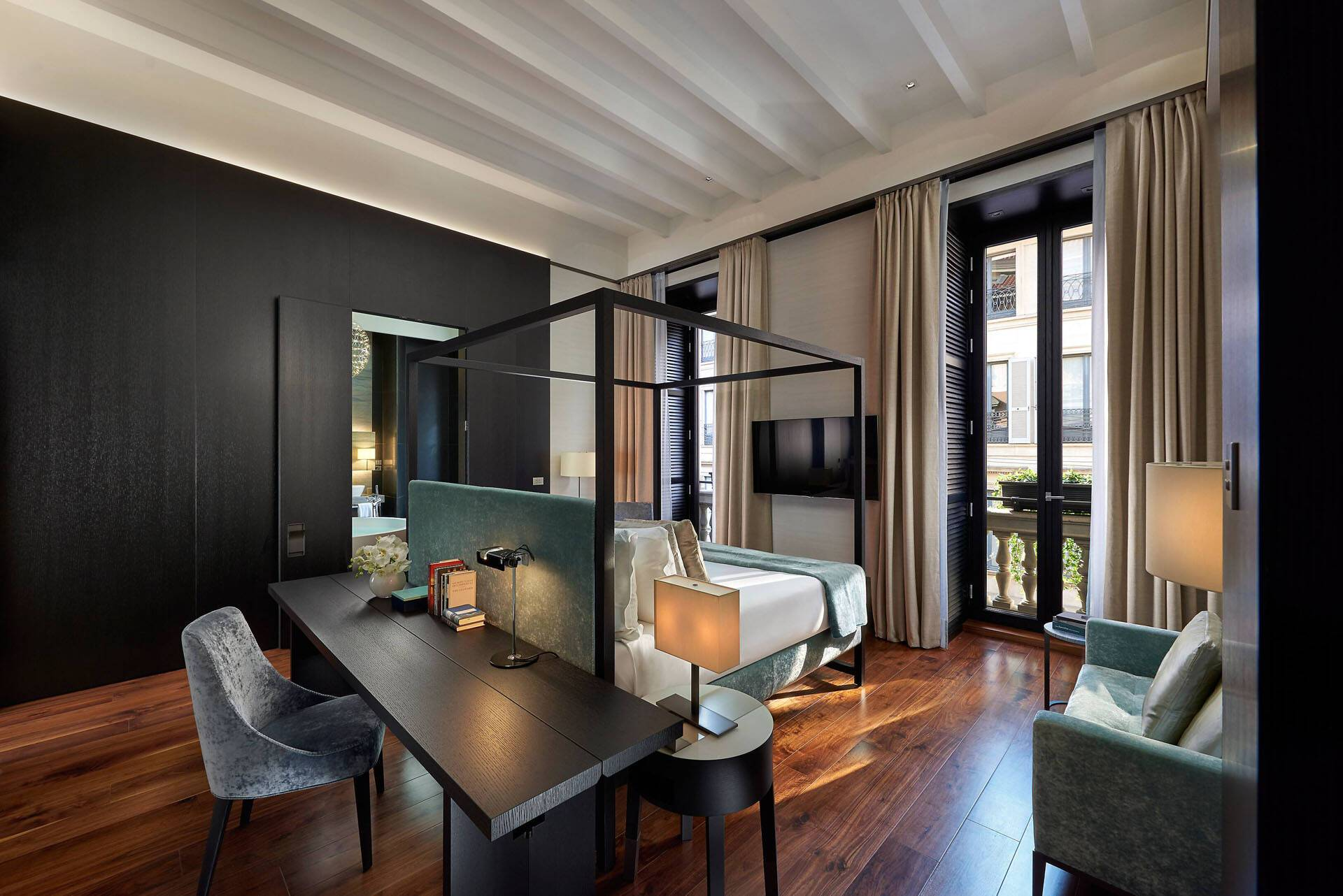Mandarin Oriental Milan Suite Presidential