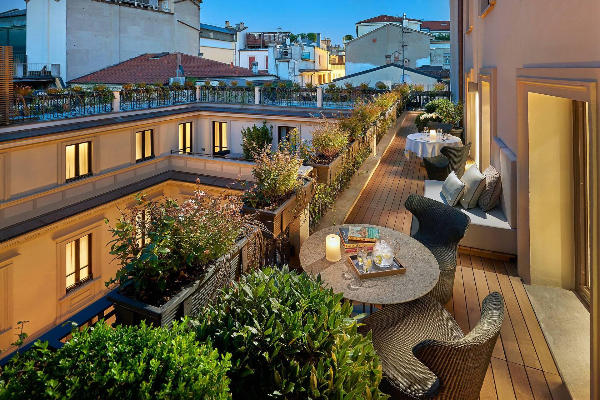 Mandarin Oriental Milan Terrasse