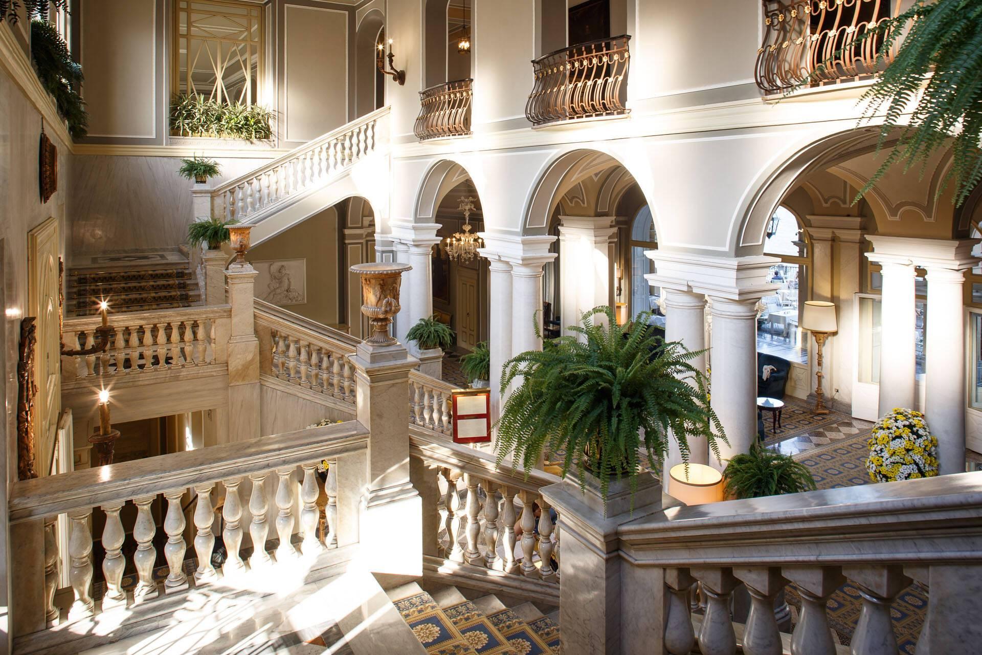 Villa Este Lac Come Escaliers