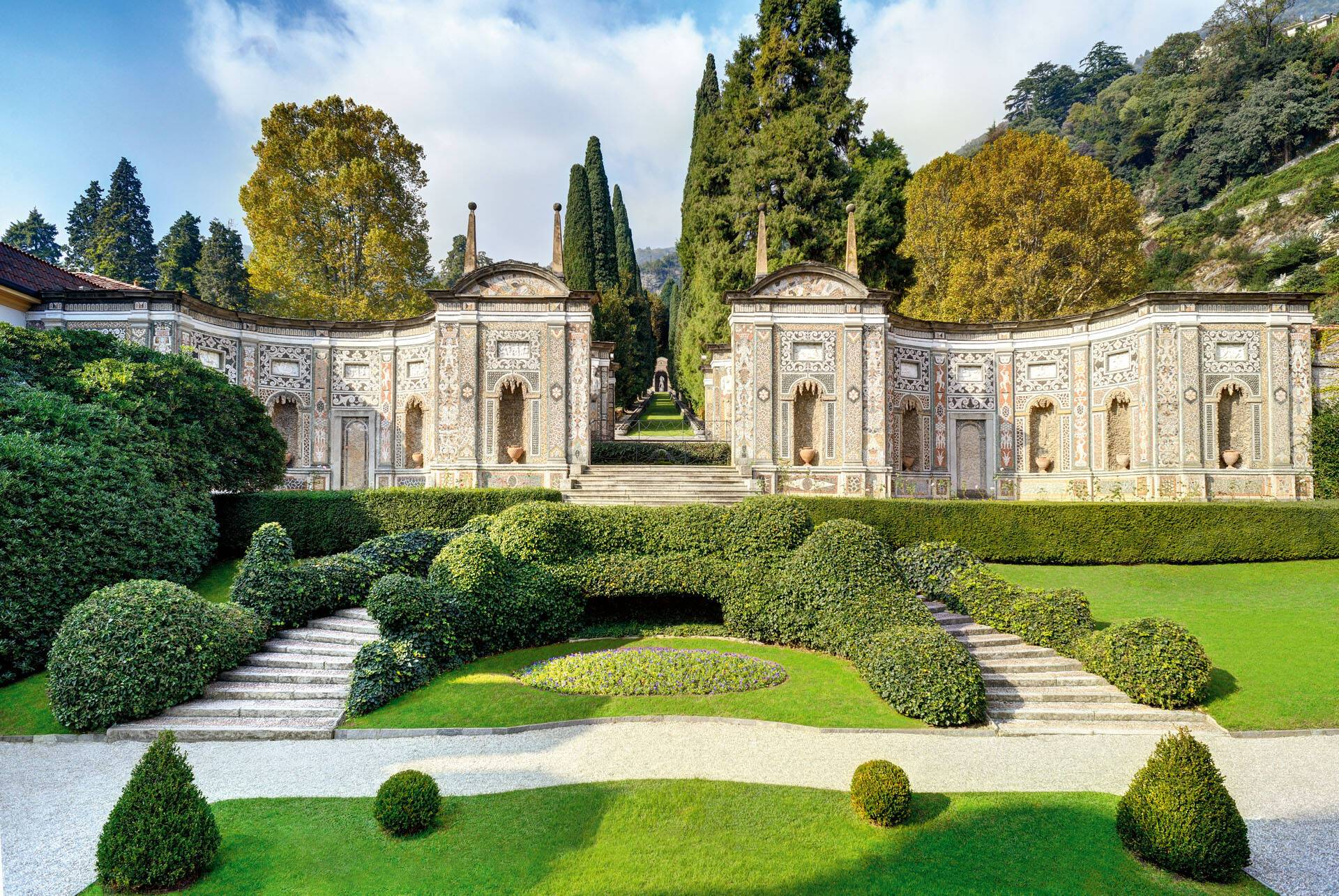 Villa Este Lac Come Jardins