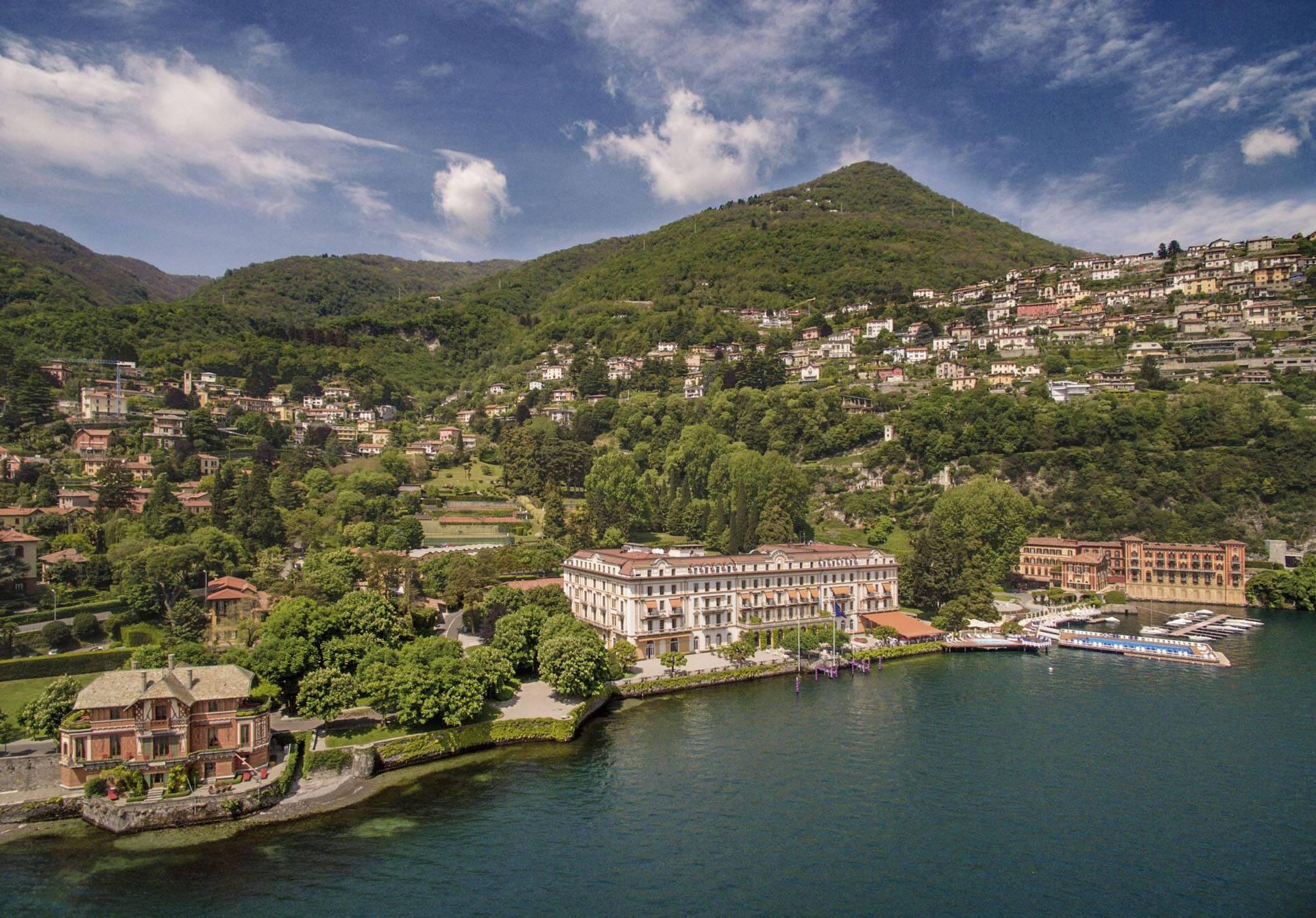 Villa Este Lac Come Vue Generale