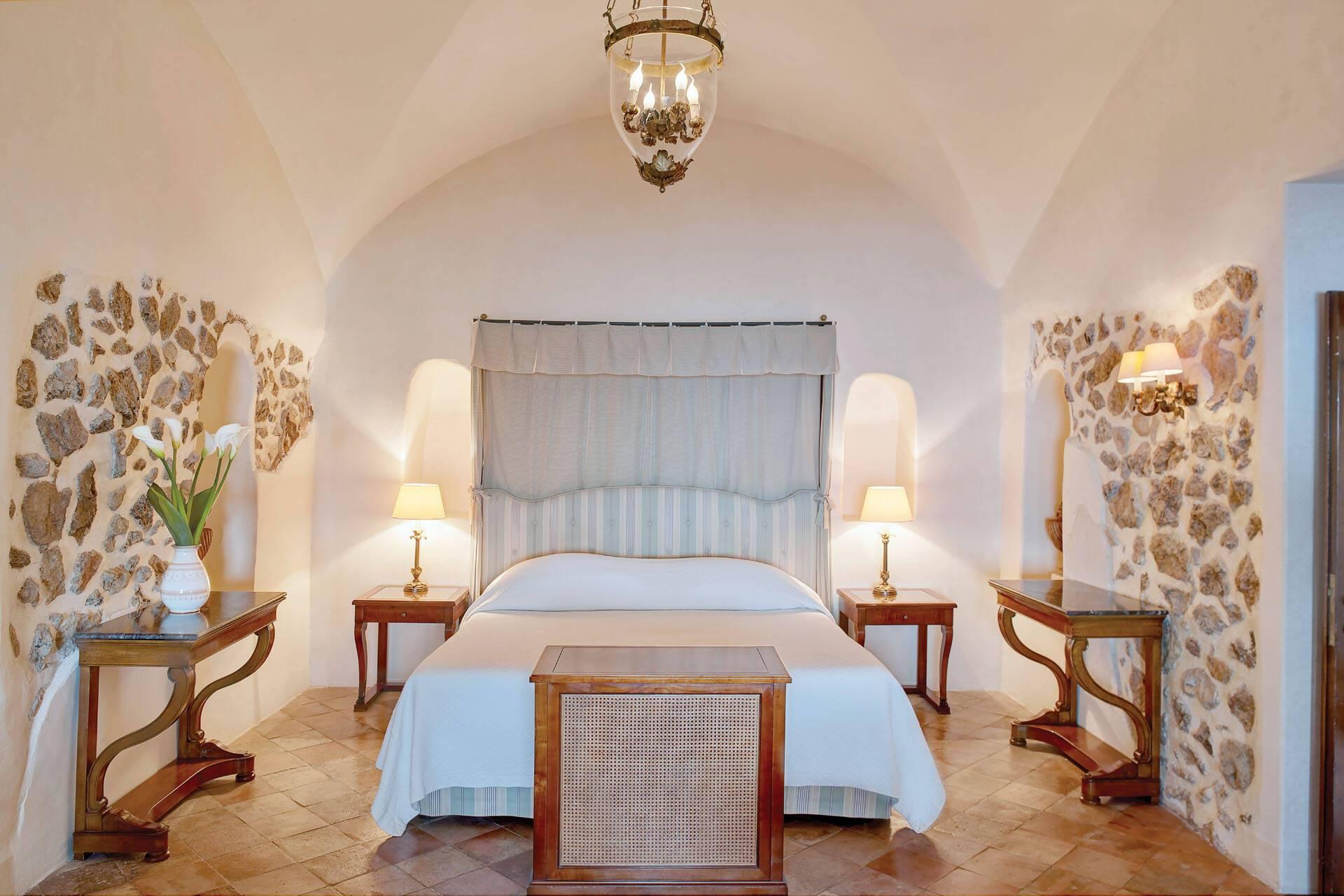 Belmond Caruso Ravello Exclusive Suite Chambre