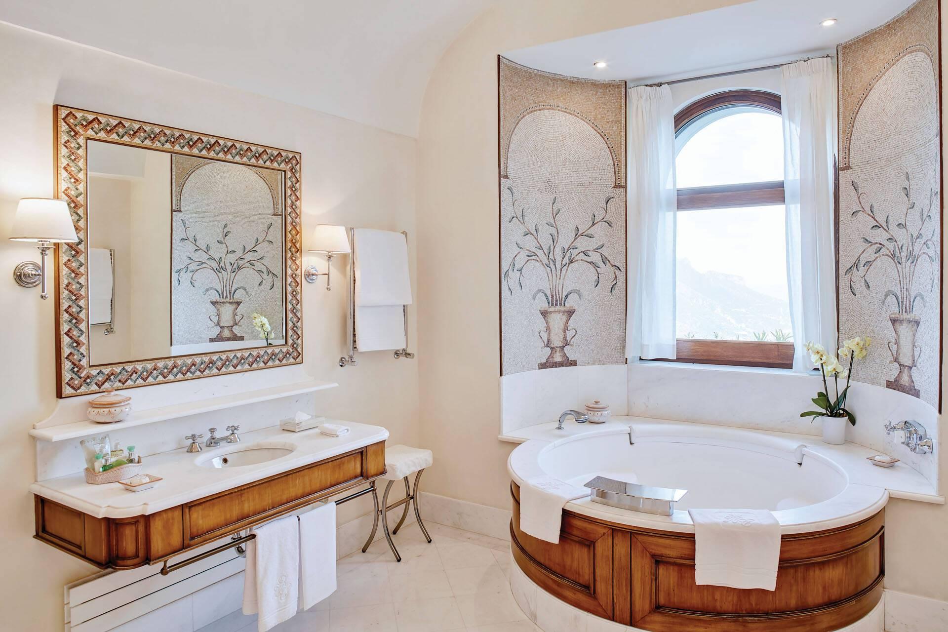 Belmond Caruso Ravello Exclusive Suite Salle Bains