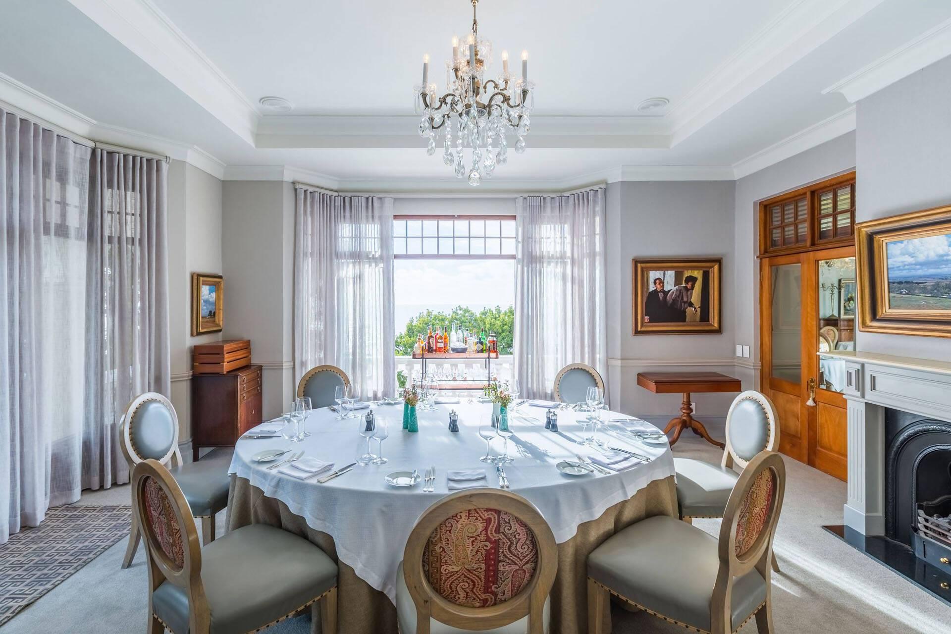 Ellerman House Cap Town Afrique Sud Diner