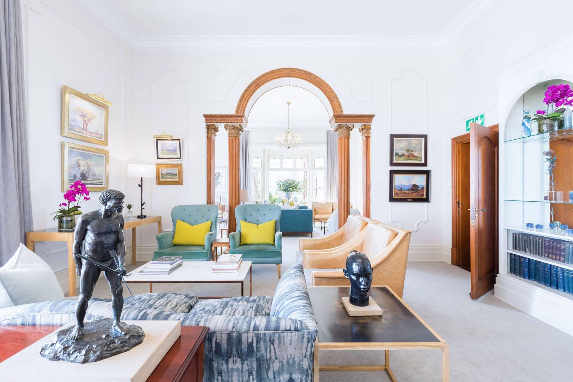 Ellerman House Cap Town Afrique Sud Lounge