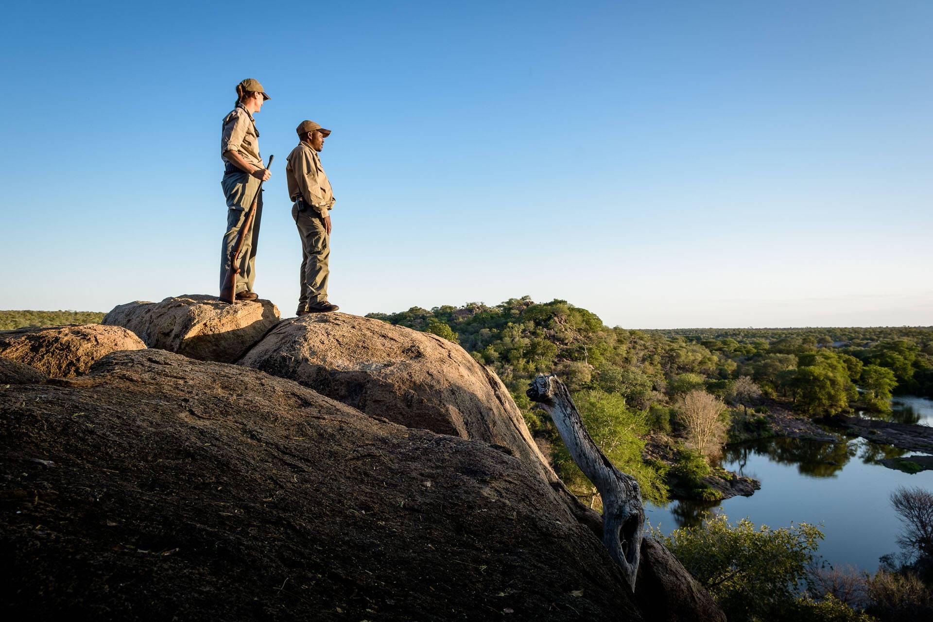 Singita Lebombo Parc Kruger Afrique Sud Bush