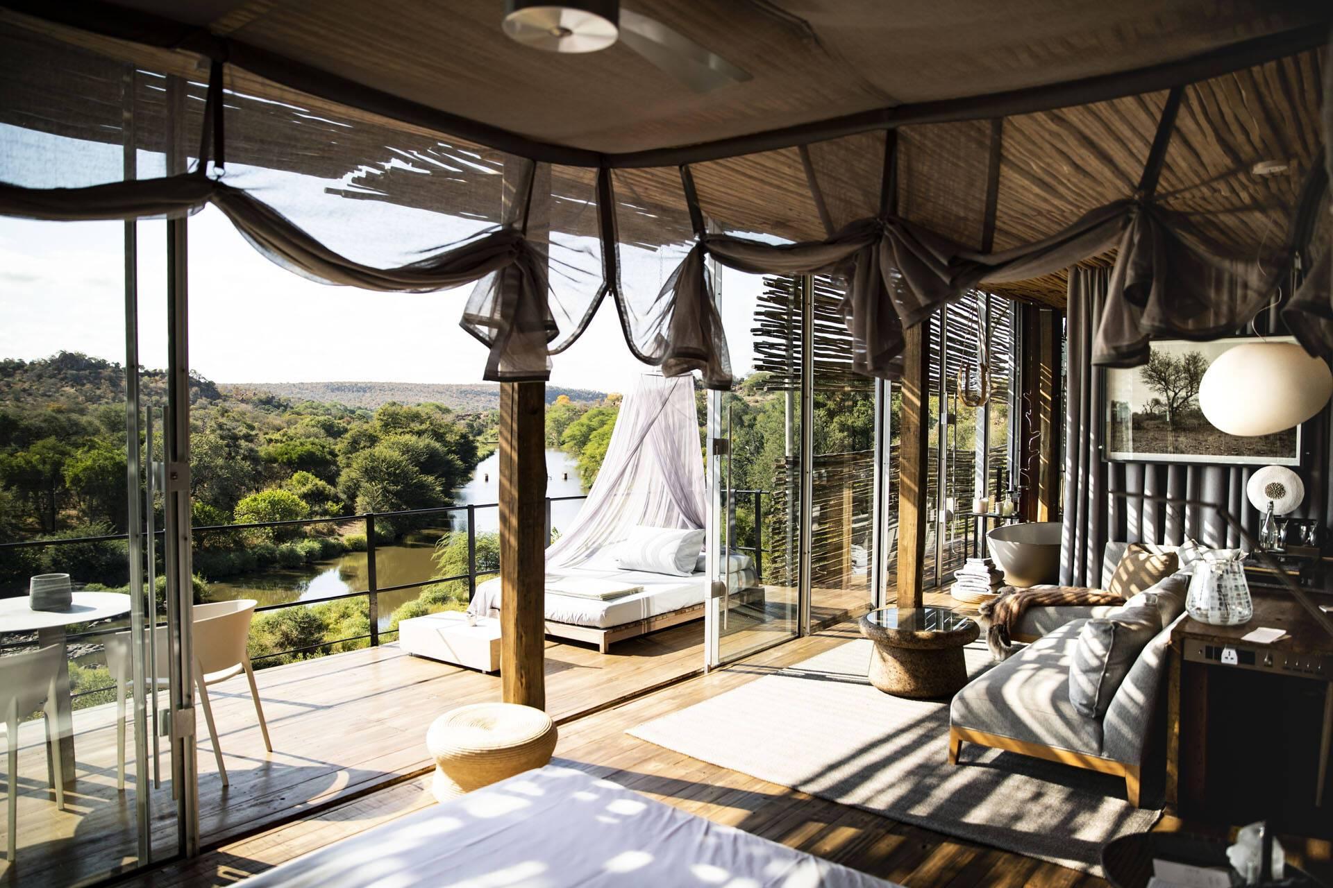 Singita Lebombo Parc Kruger Afrique Sud Exterieur interieur