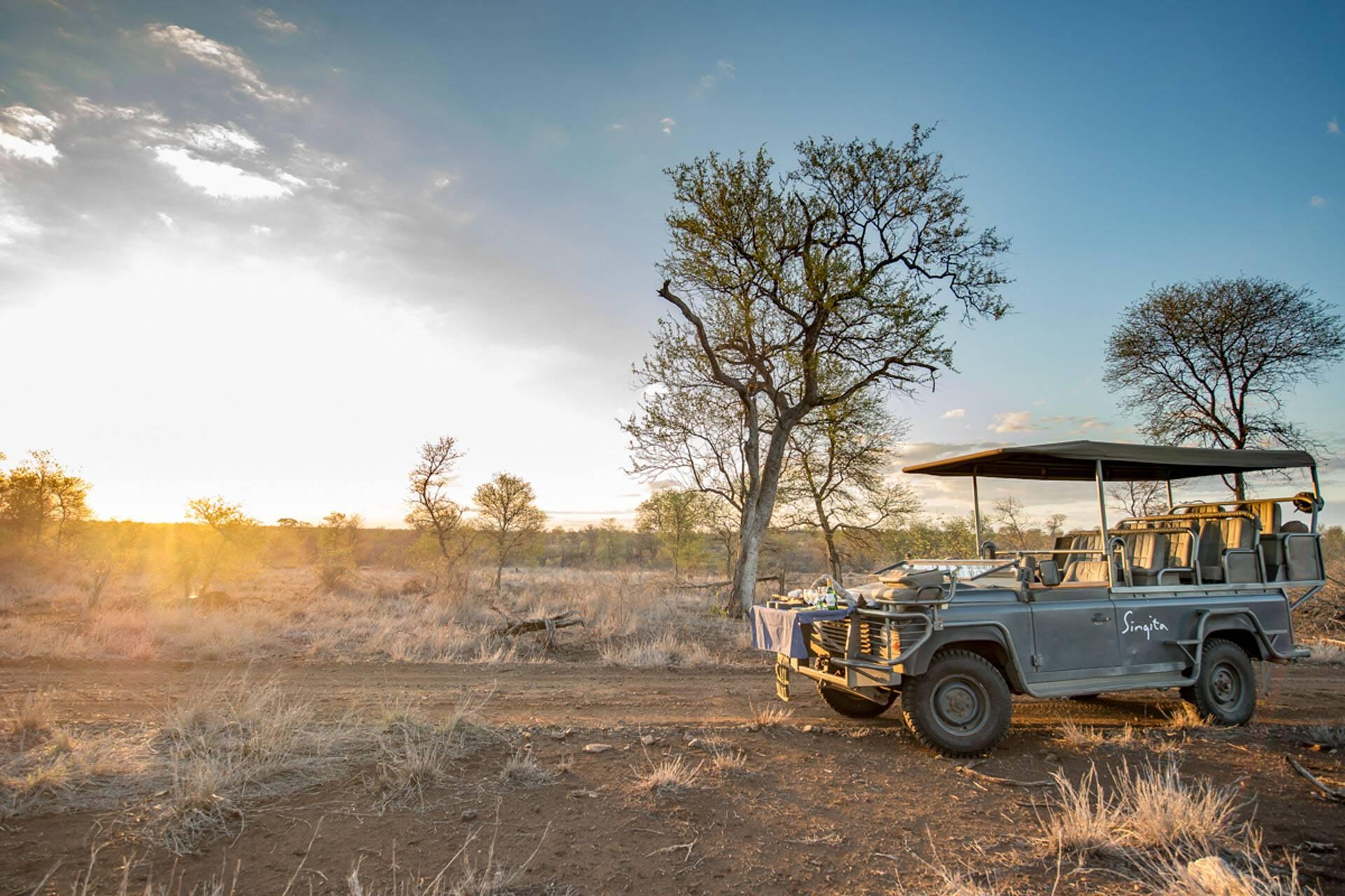 Singita Lebombo Parc Kruger Afrique Sud Safari Aperitif