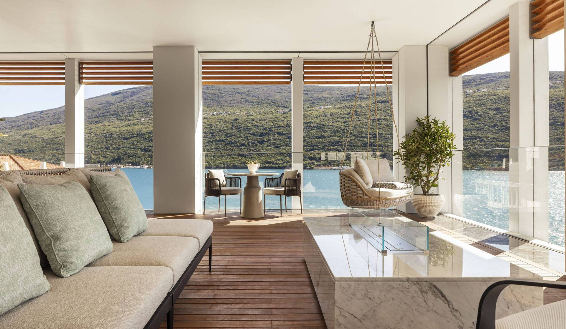 One And Only Portonovi Montenegro SuiteOne Balcony