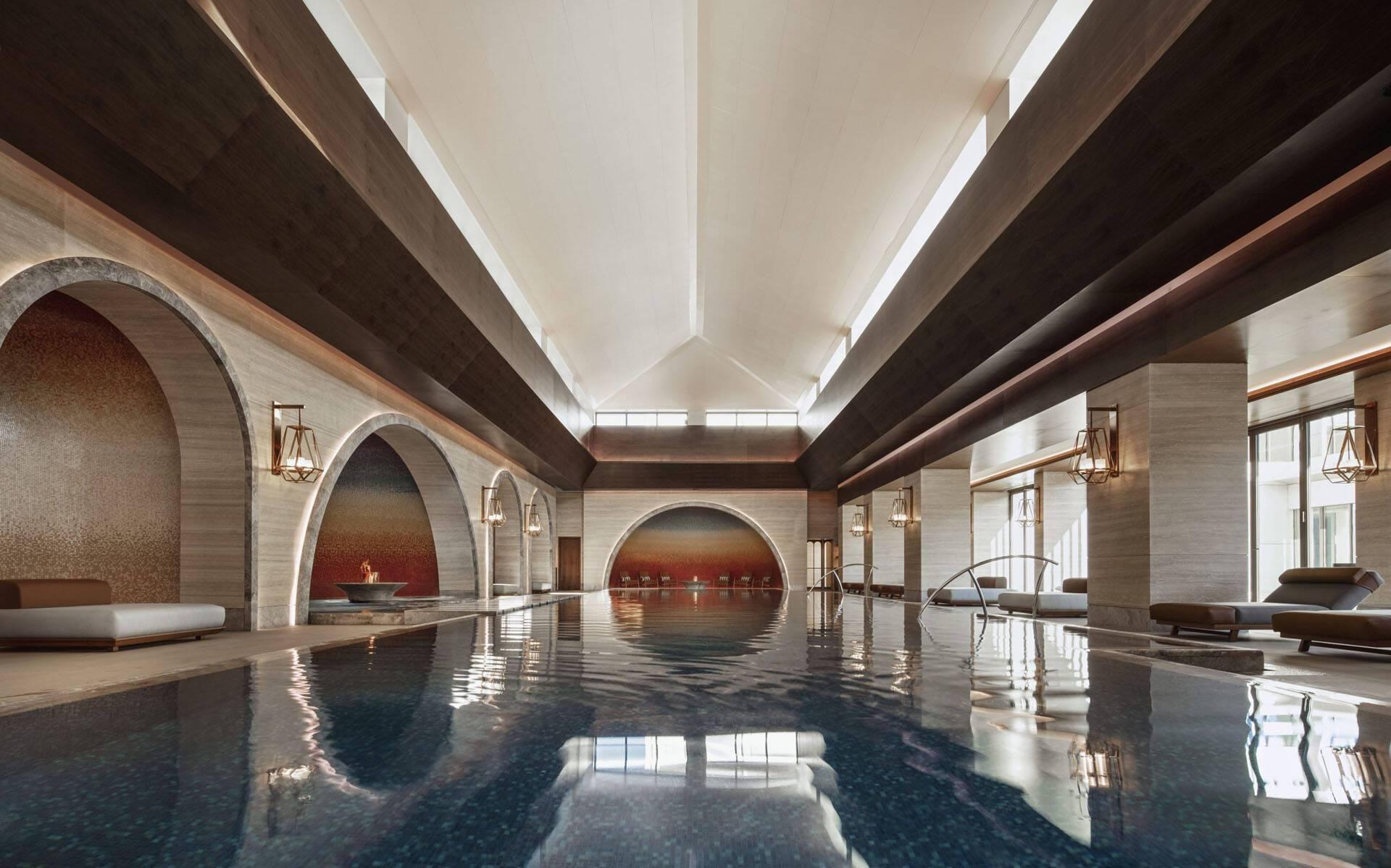 One And Only Portonovi Montenegro Wellness Chenot Espace Indoor Pool Wide