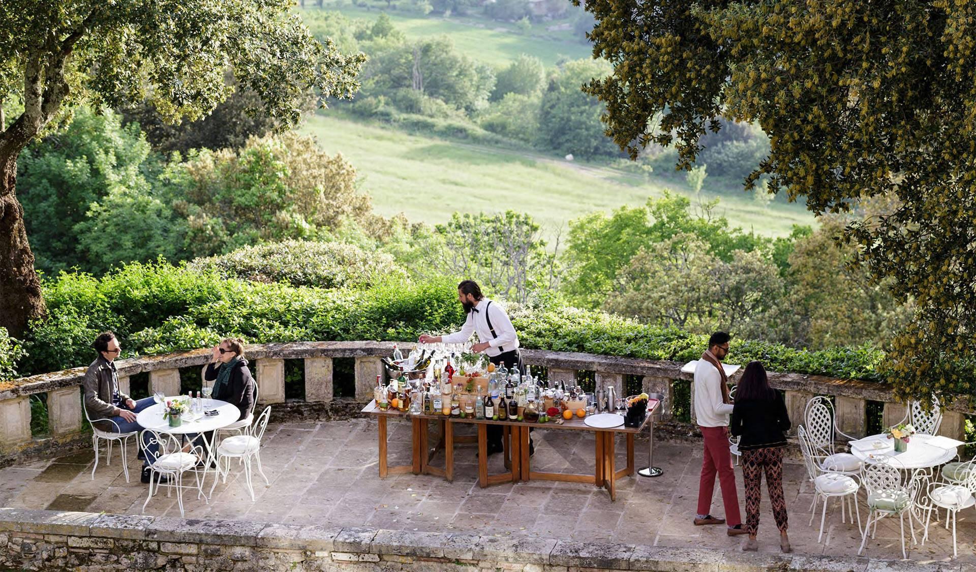 Borgo Pignano Toscane Aperitivo