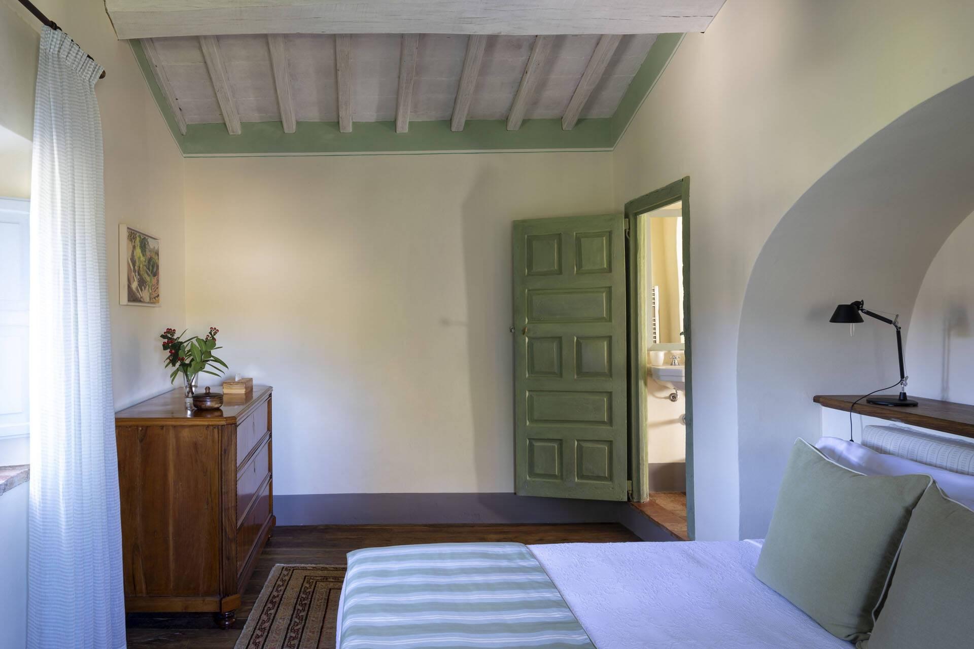 Borgo Pignano Toscane Casa del Lago Chambre