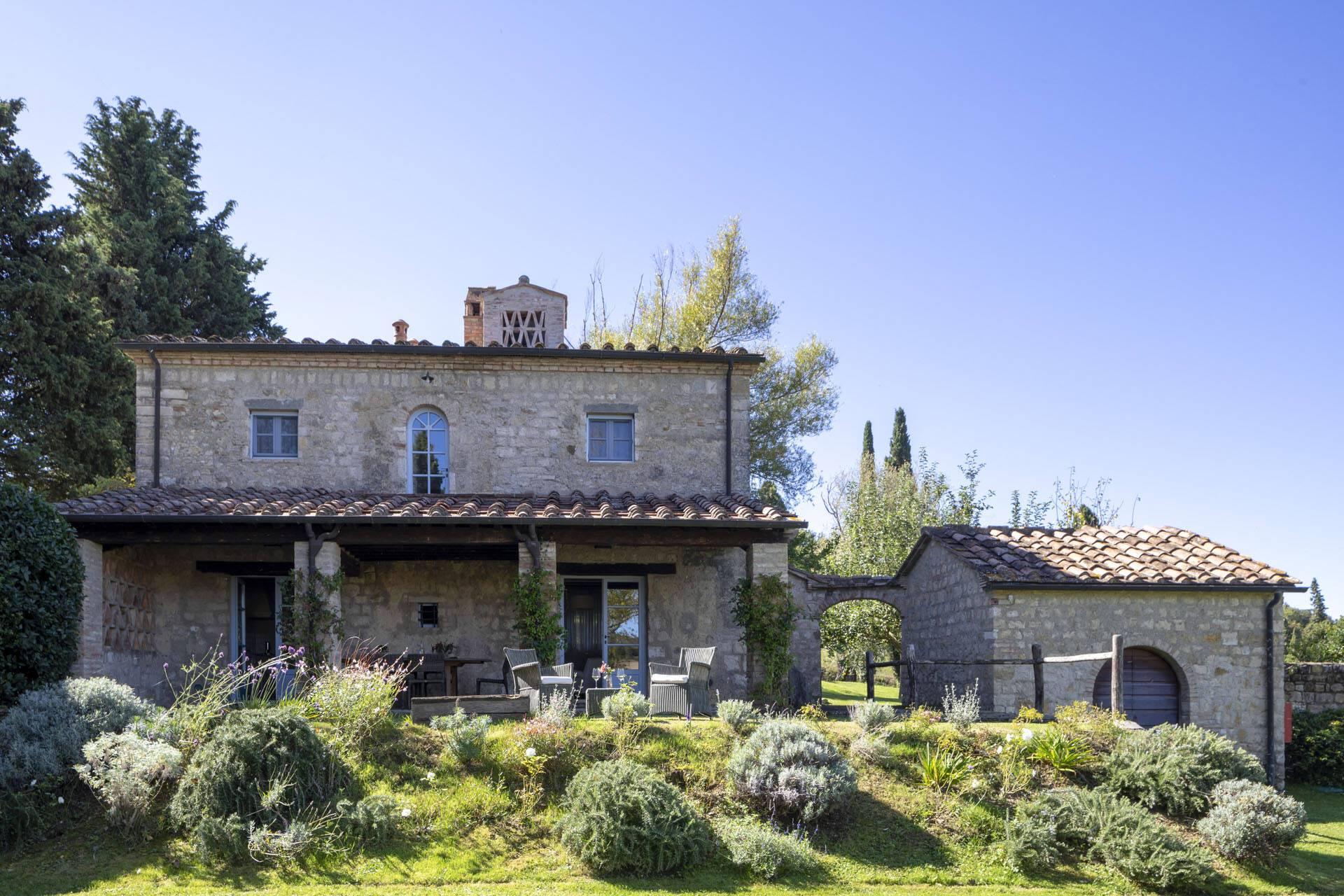 Borgo Pignano Toscane Casa del Lago Exterieur