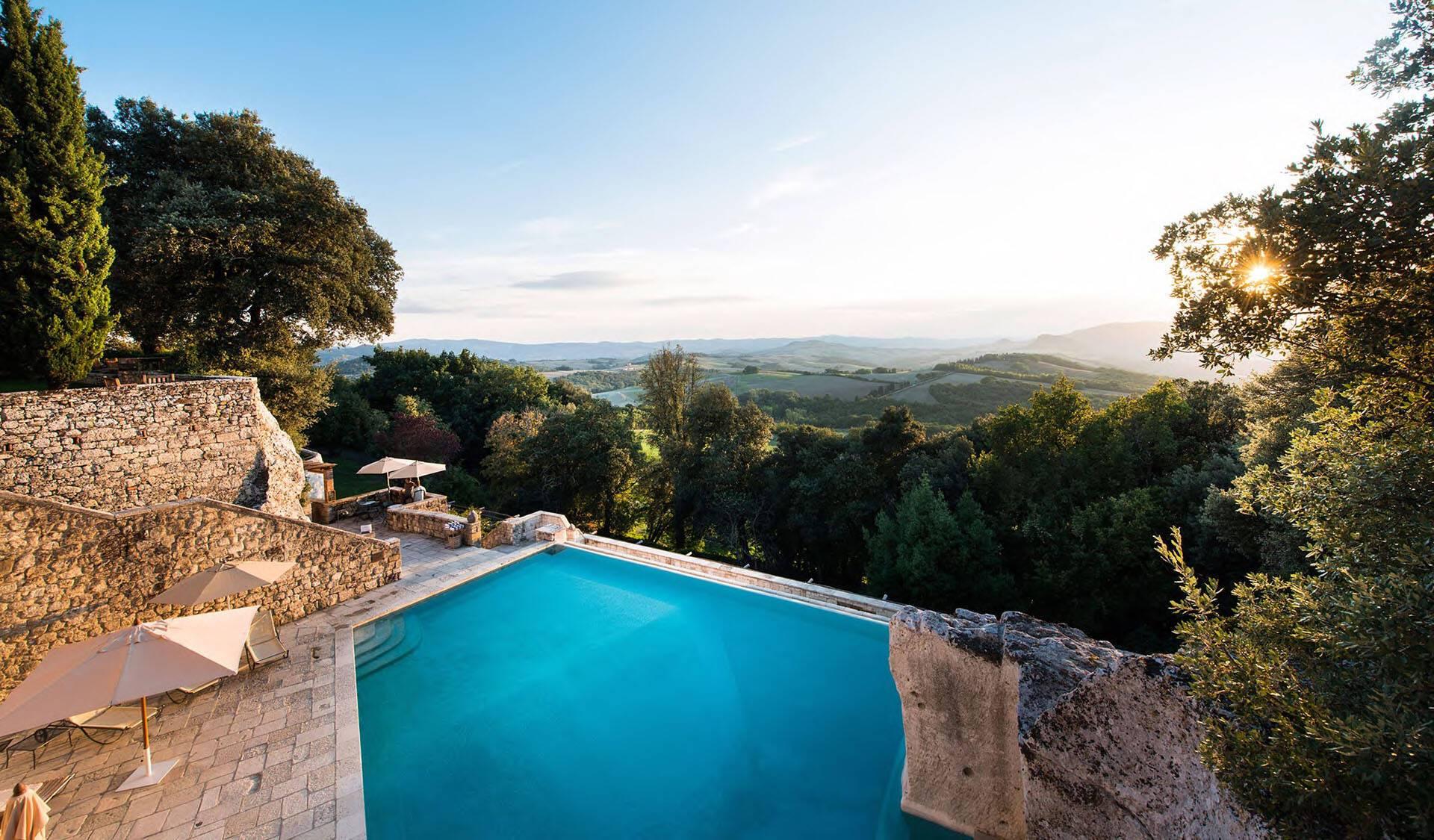Borgo Pignano Toscane Piscine