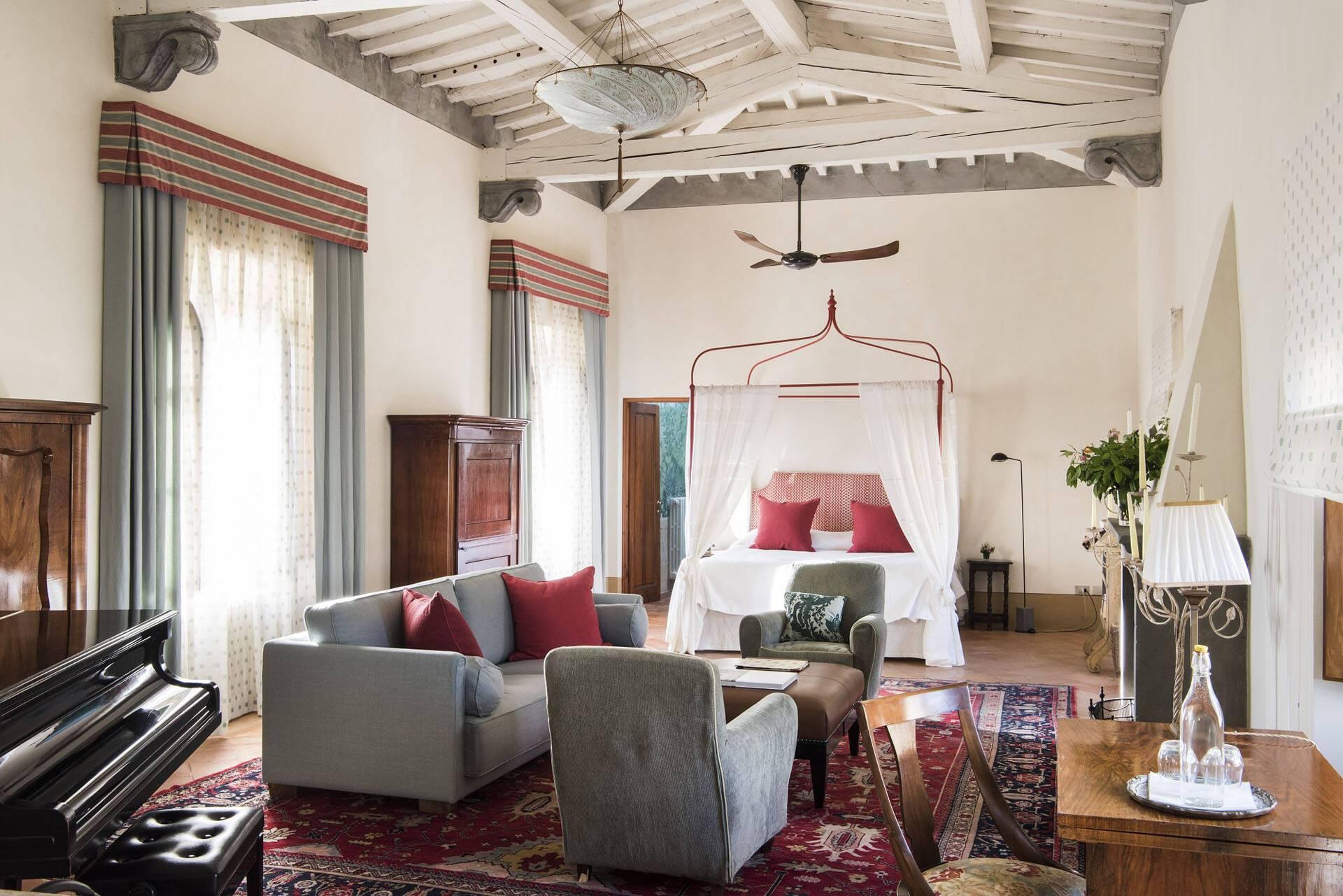 Borgo Pignano Toscane Suite with view