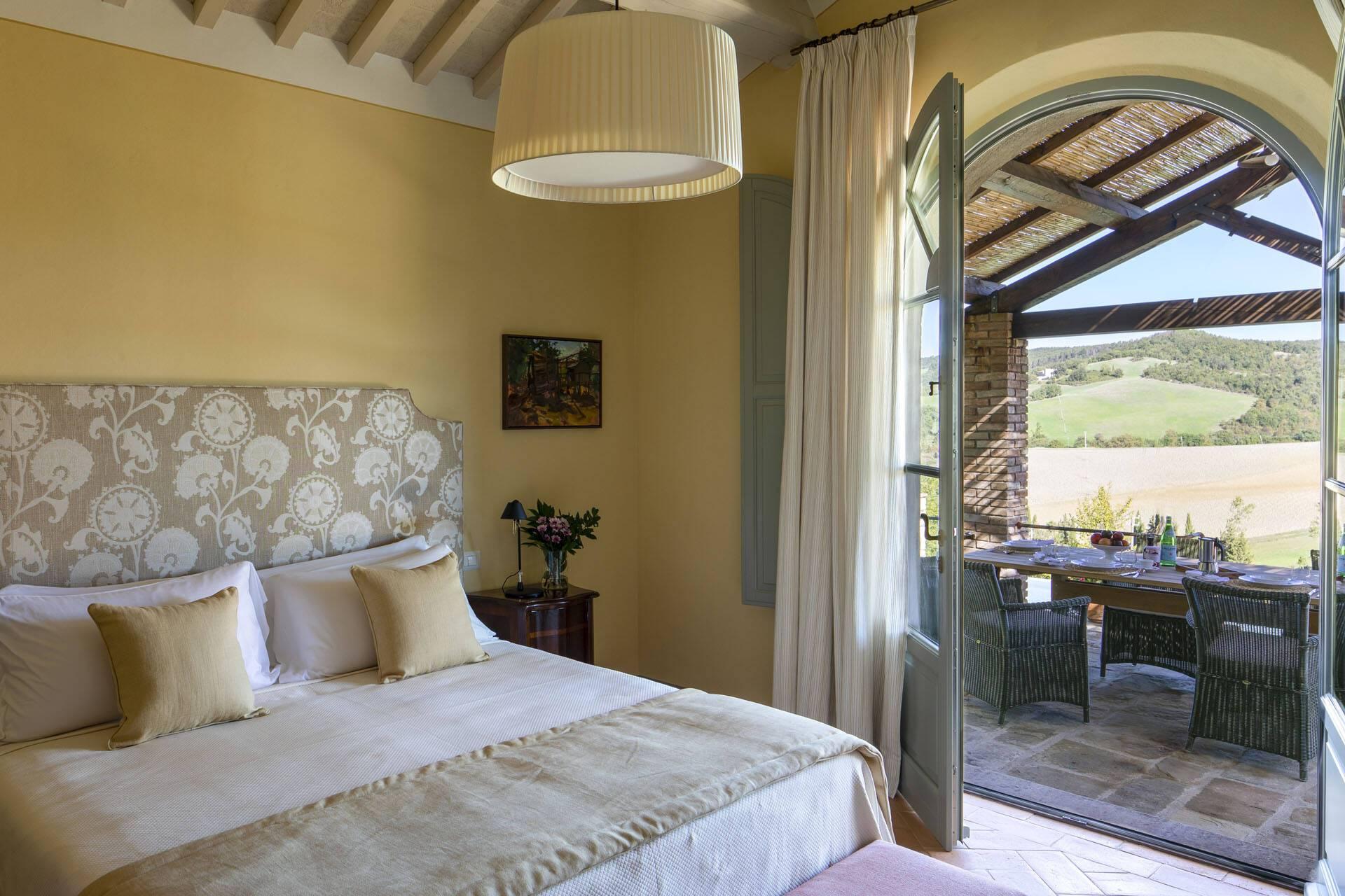Borgo Pignano Toscane Villa La Lavandaia Chambre