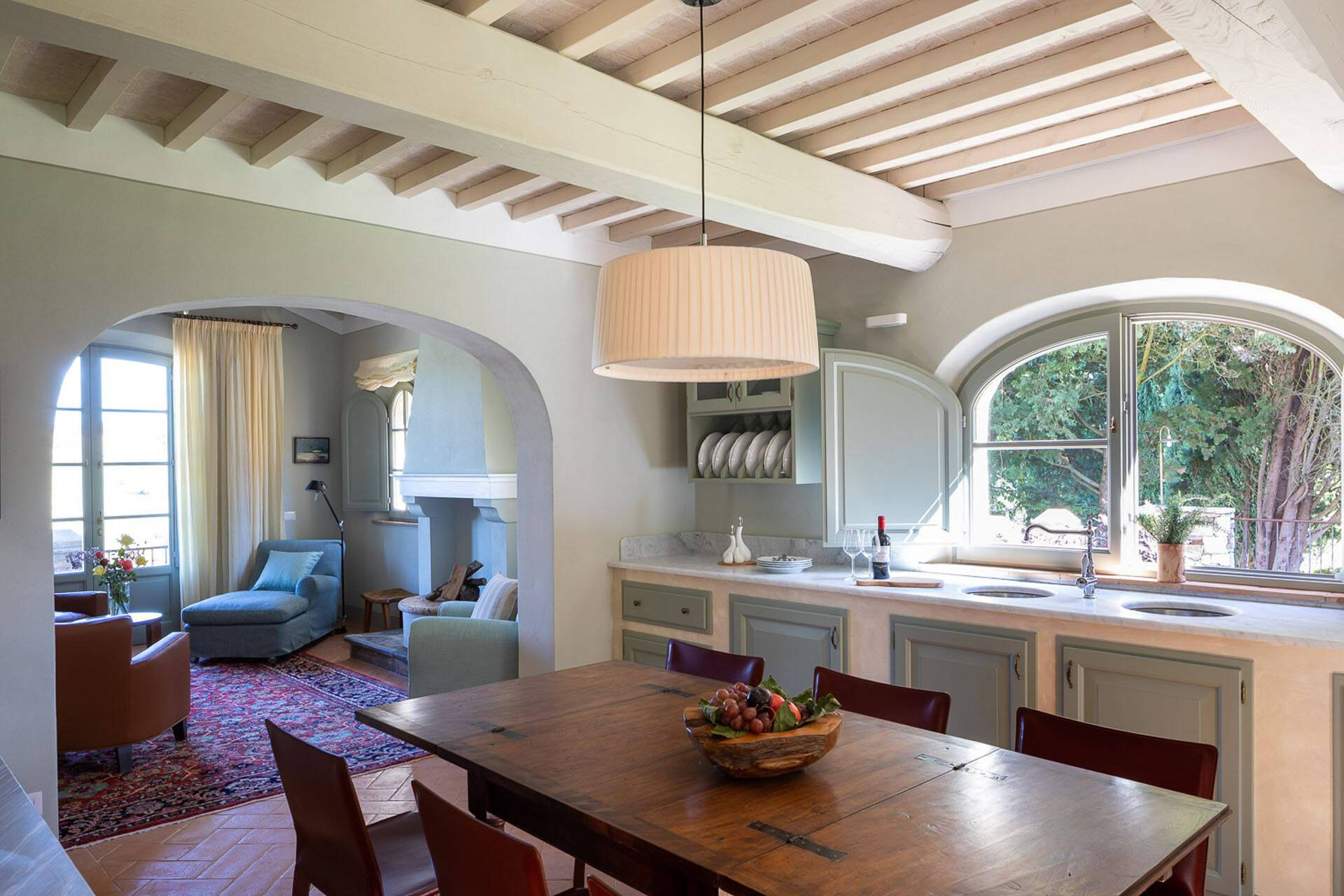 Borgo Pignano Toscane Villa La Lavandaia Cuisine
