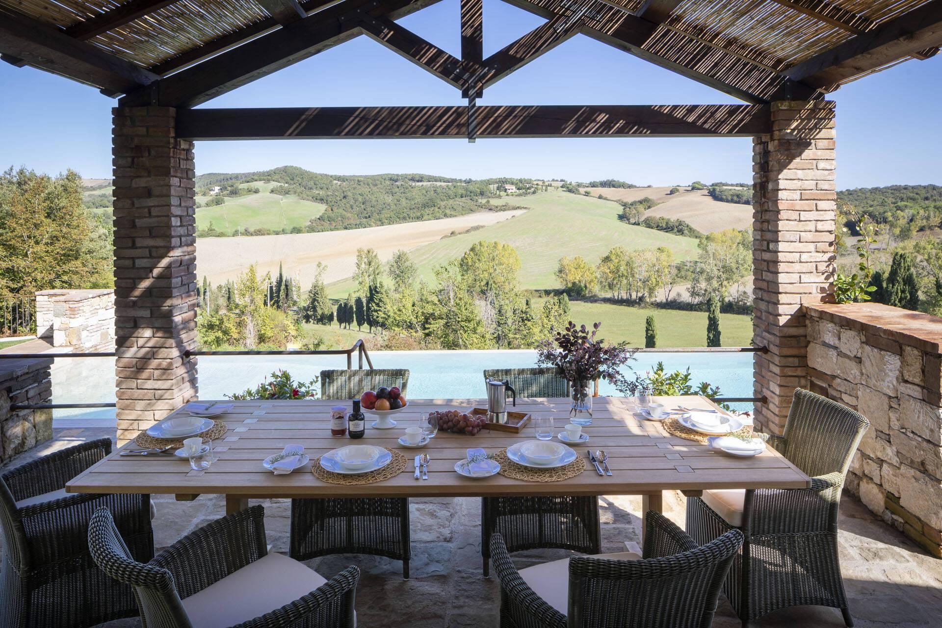 Borgo Pignano Toscane Villa La Lavandaia Vue