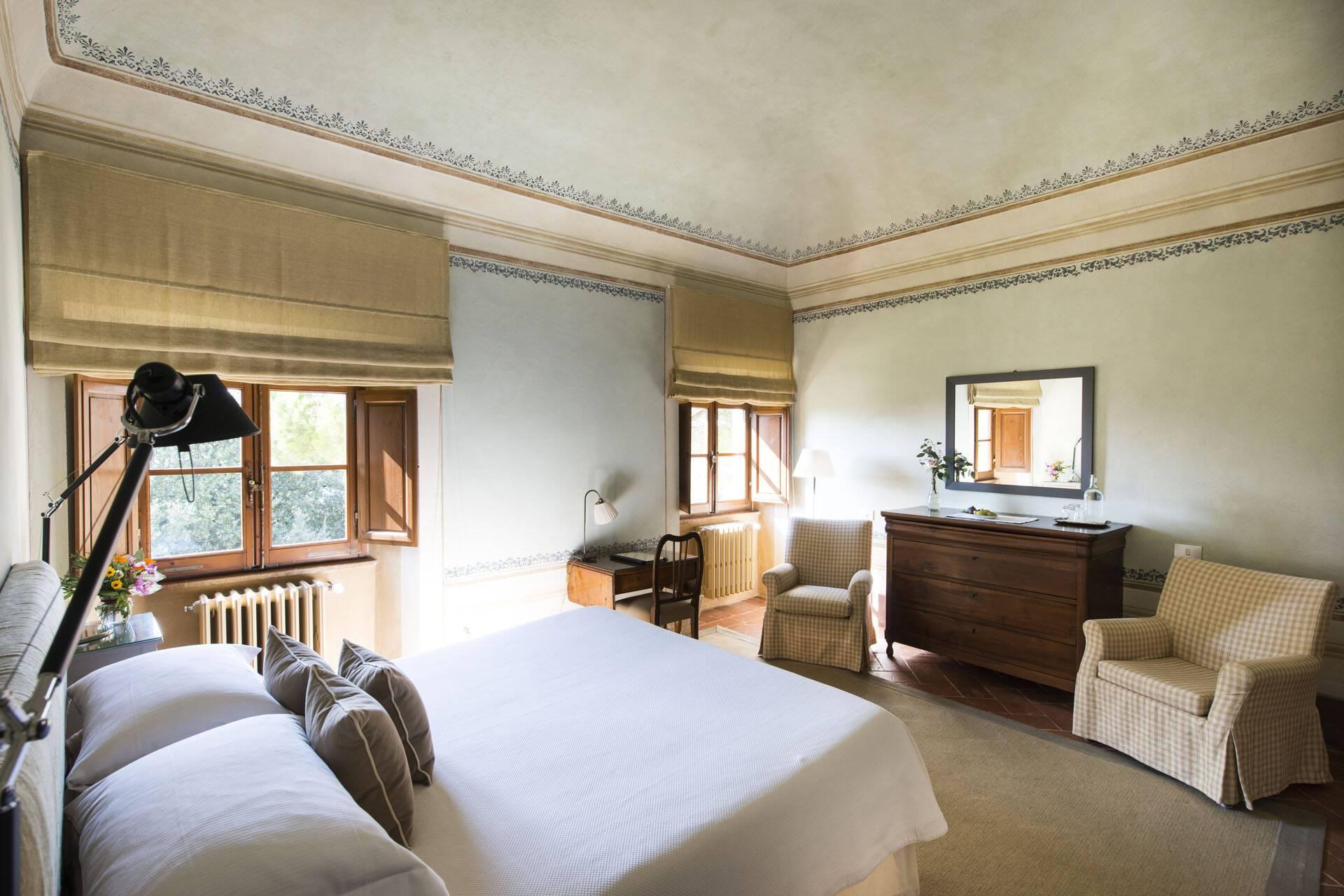 Borgo Pignano Toscane Villa Room with view