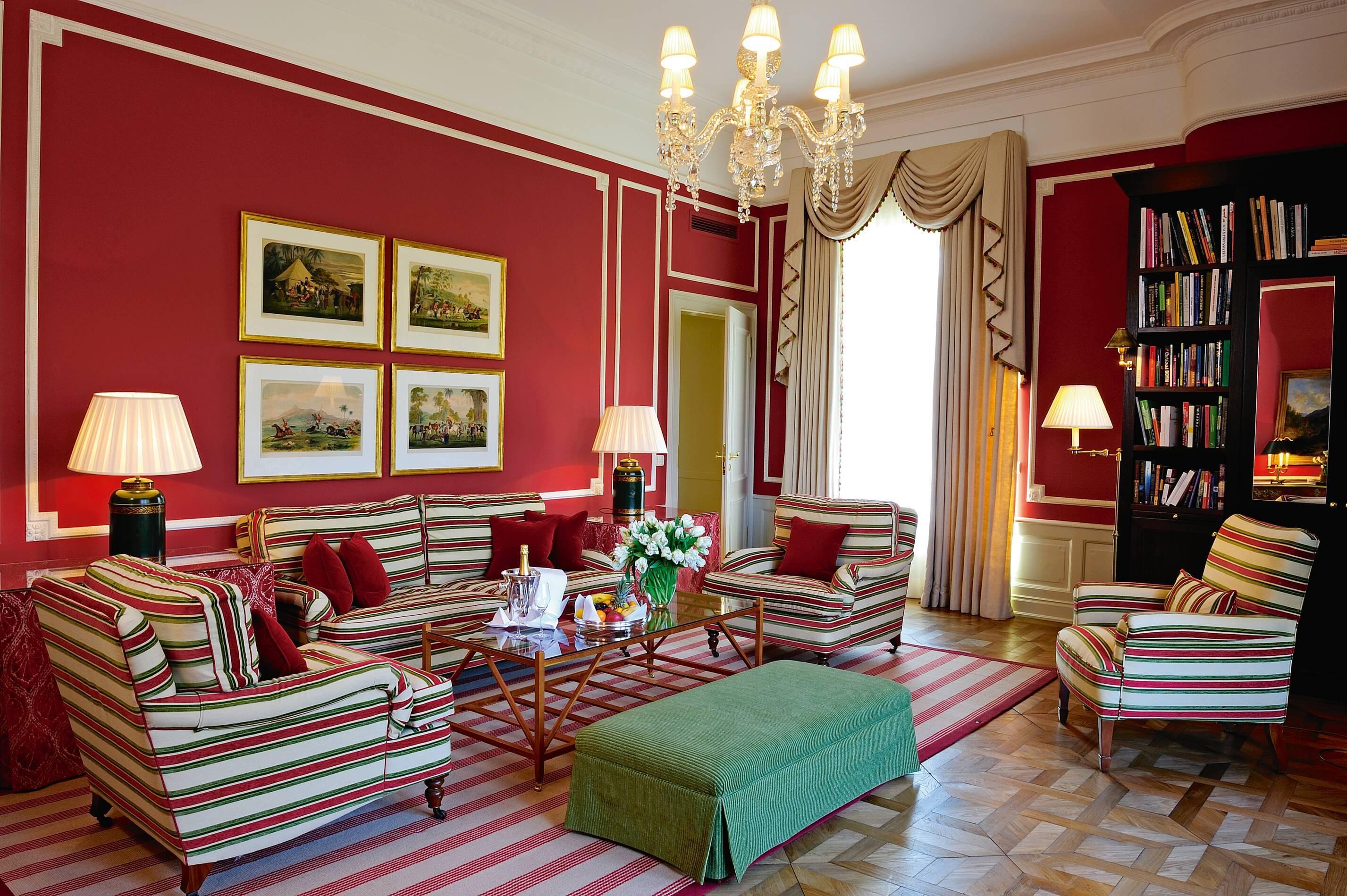 Brenners Baden Baden Suite Deluxe Salon