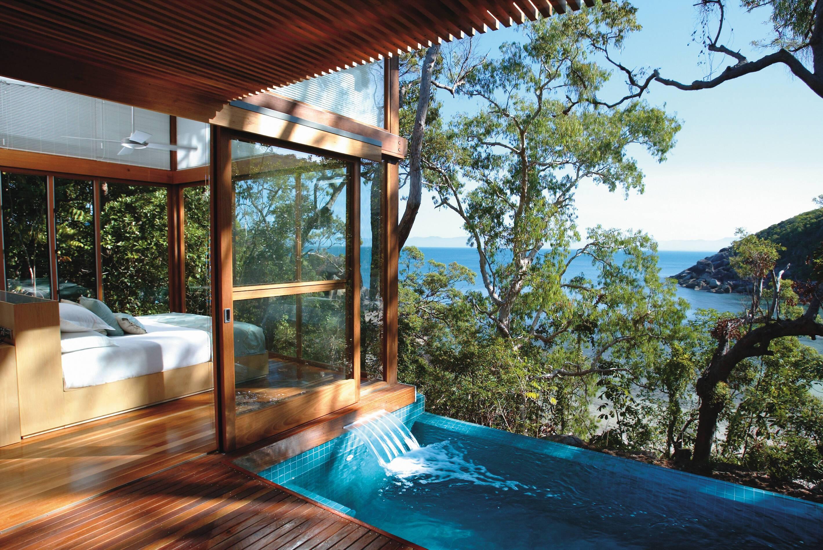 Bedarra Island Pavillon Chambre Piscine Australie