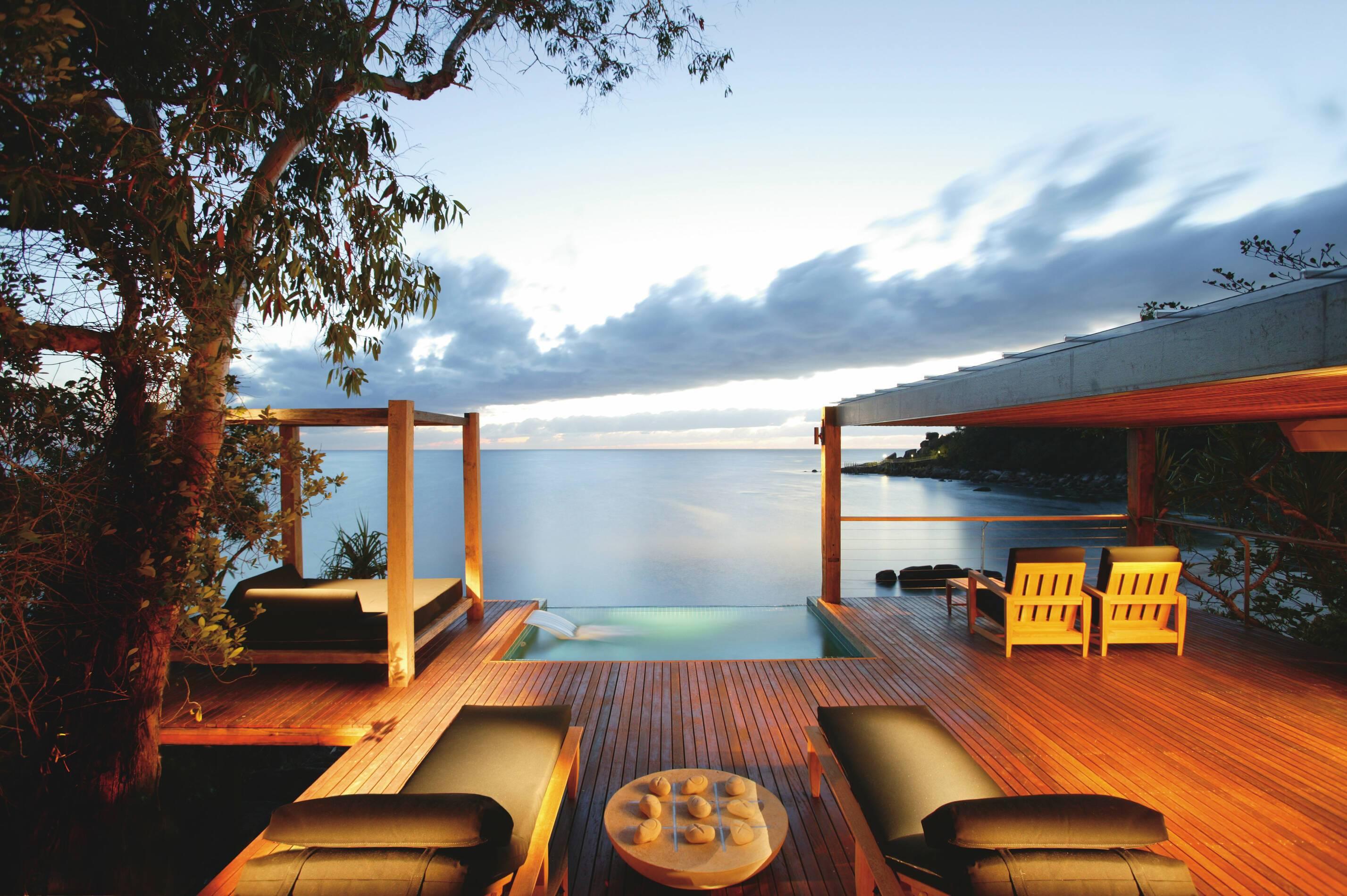 Bedarra Island Point Villa Terrasse Piscine Australie
