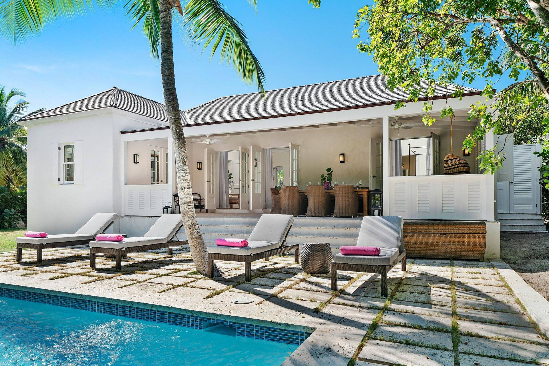 Pink Sands Harbour Island Bahamas Villa with Private Pool