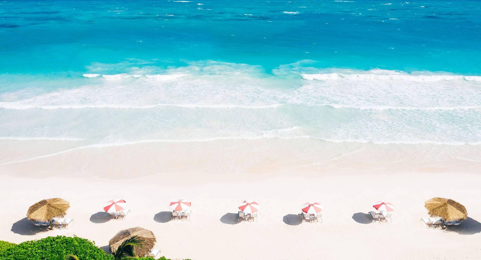 Pink Sands Harbour Island Bahamas Vue