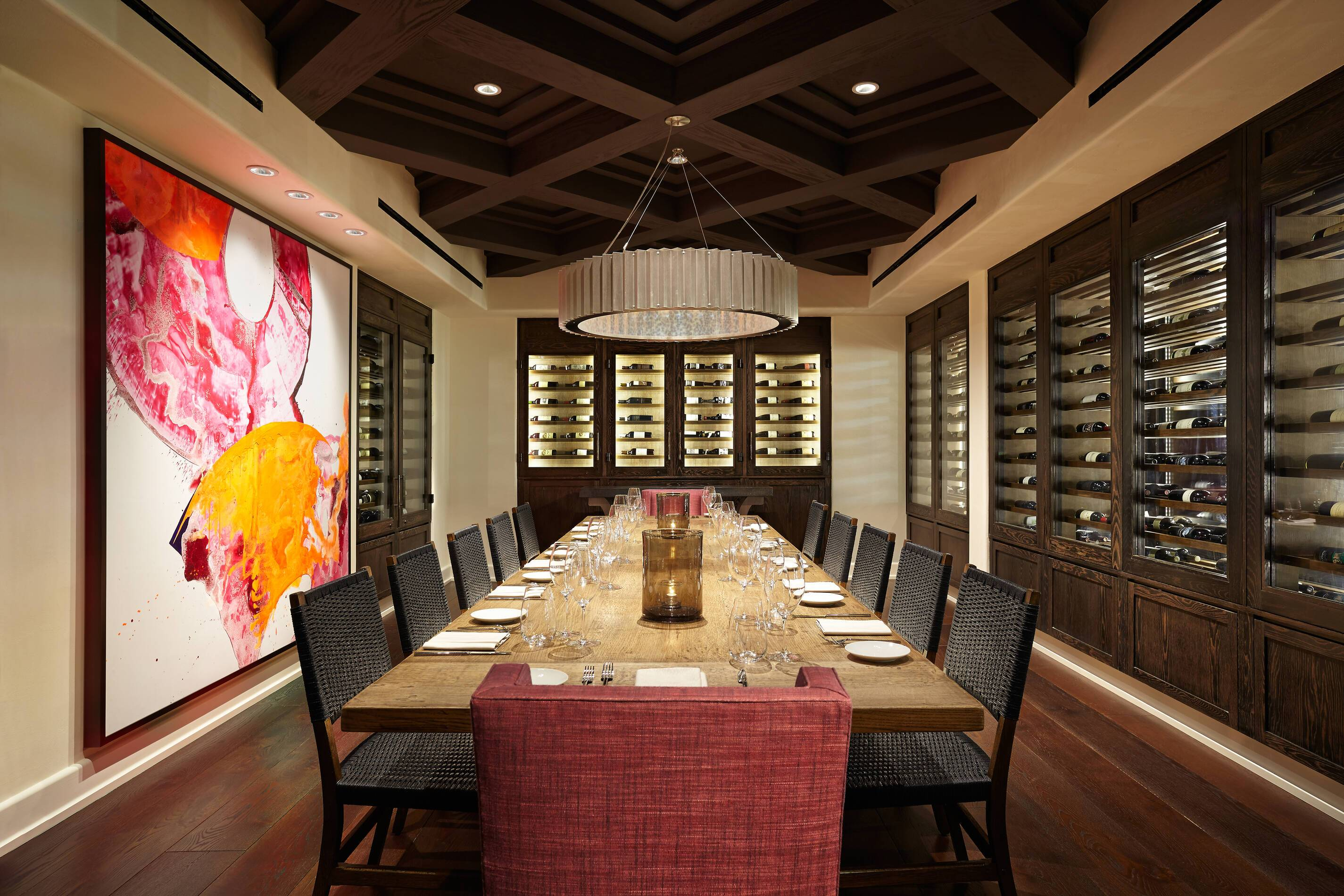 Ojai Valley Inn Resort Californie Olivella Wineroom