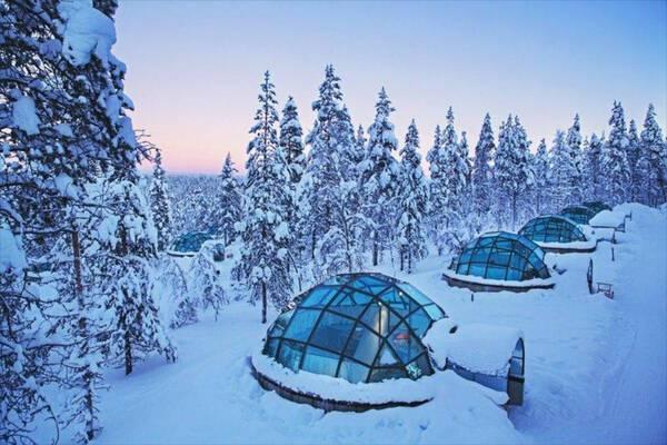 Les plus beaux hôtels en Laponie pour observer les aurores boréales