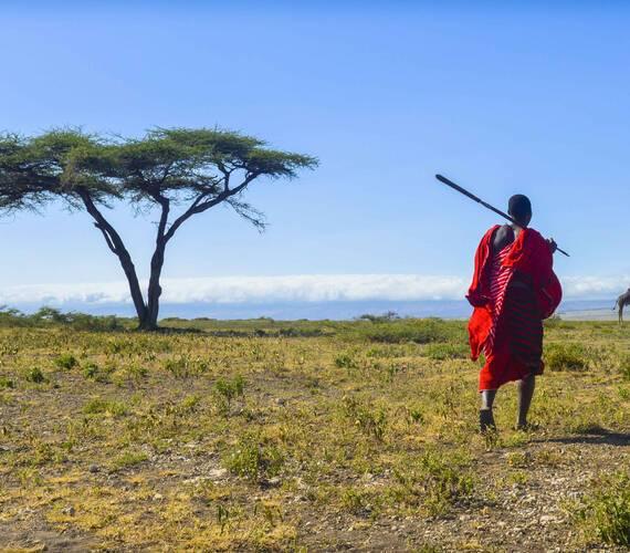 Olduvai Ndogo Tanzanie Masai