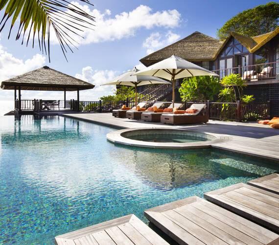 Fregate Island Piscine Privee Seychelles