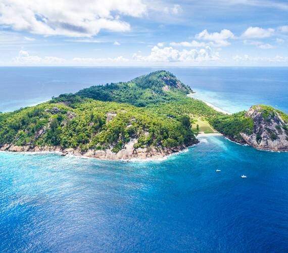North Island View Seychelles