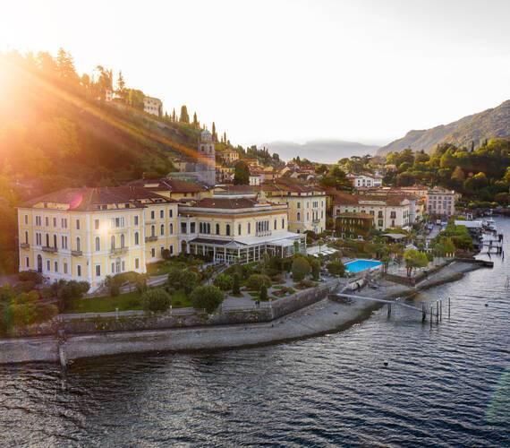 Grand Hotel Villa Serbelloni Lac Come Vue