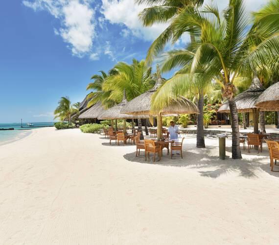 Paradis Beachcomber Restaurant Plage Maurice